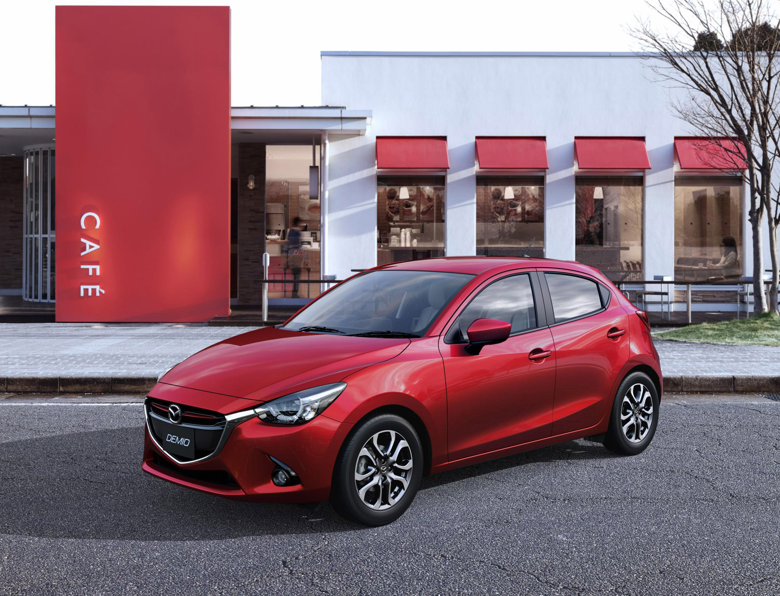 2015 mazda2 officially unveiled. Black Bedroom Furniture Sets. Home Design Ideas