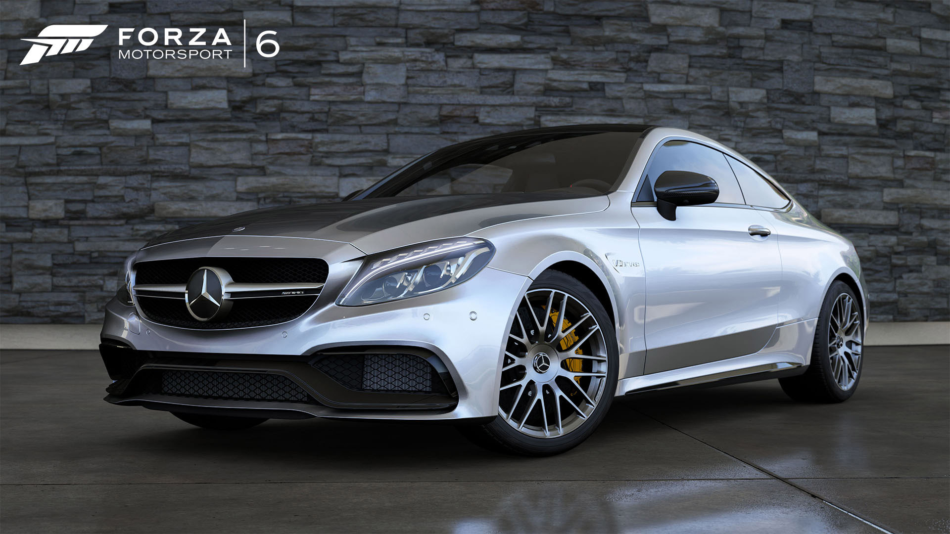 mercedes amg c63 s coupe is featured in forza motorsport 6. Black Bedroom Furniture Sets. Home Design Ideas