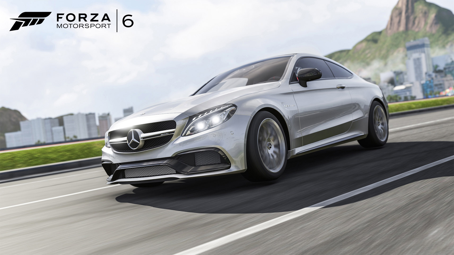 Mercedes amg c63 s coupe is featured in forza motorsport 6 for Mercedes benz motorsport