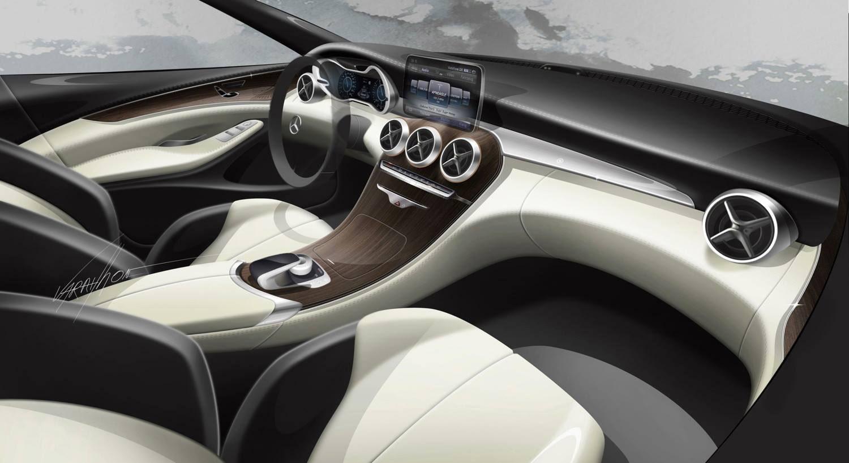 2015 mercedes benz c class sedan us pricing announced for Mercedes c class 2015 interior