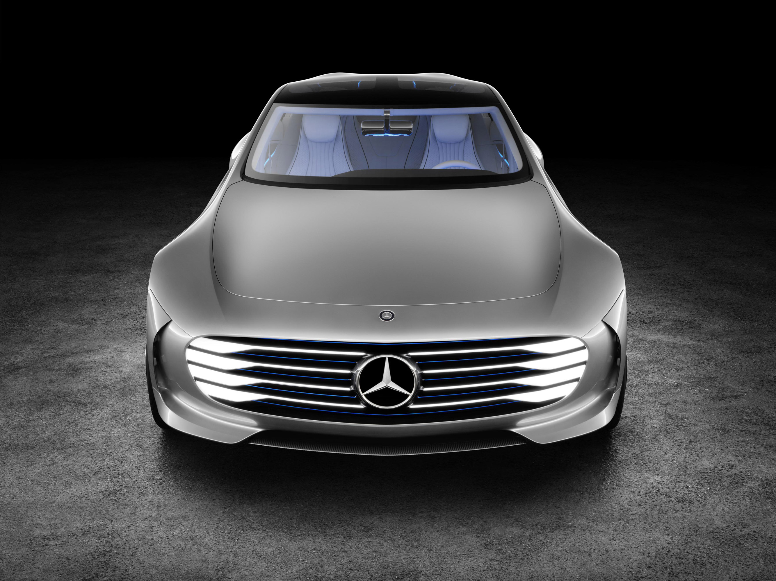 Mercedes benz concept iaa too much future in the present for Where do they make mercedes benz
