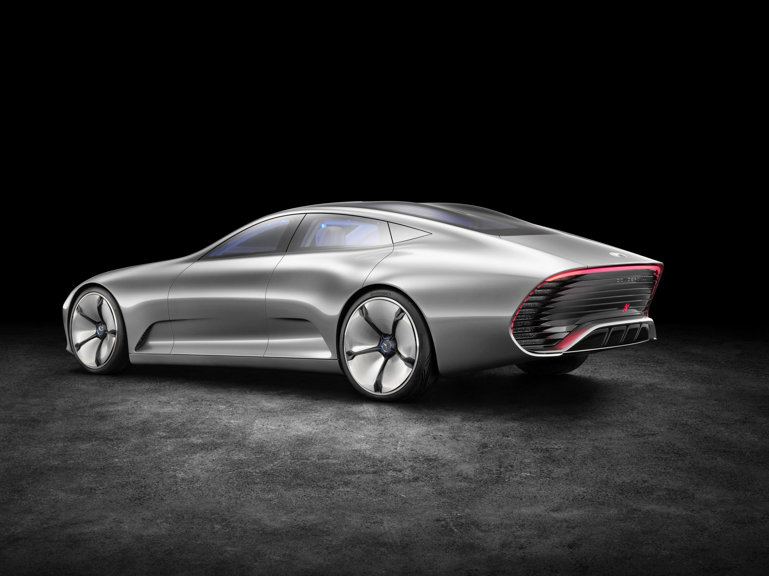 Mercedes benz concept iaa too much future in the present for Mercedes benz how much