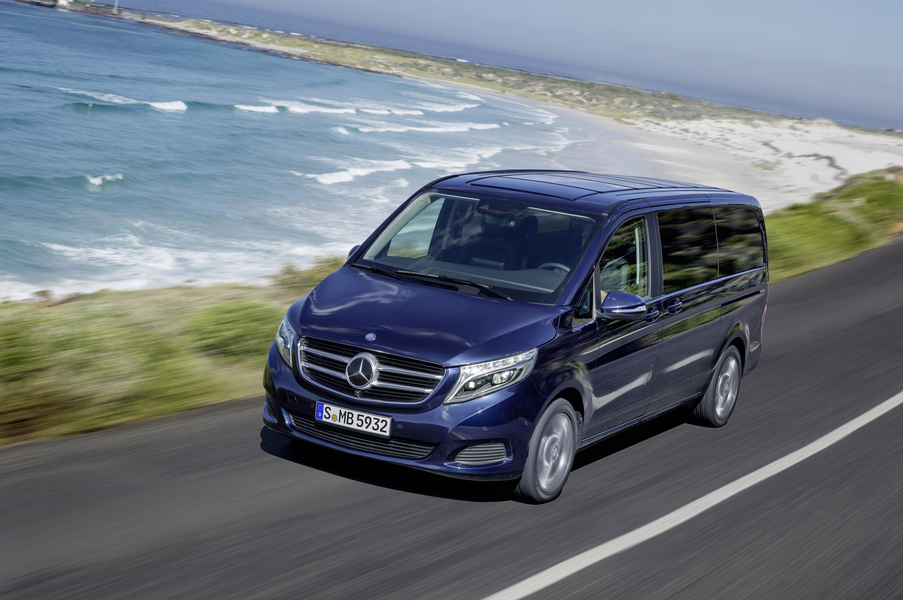 2015 mercedes benz v class the best mpv. Black Bedroom Furniture Sets. Home Design Ideas