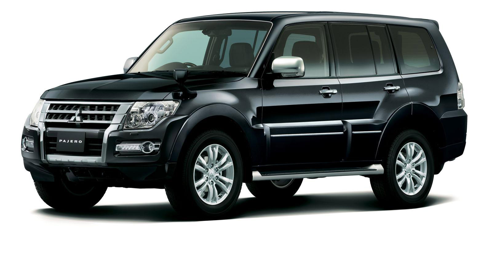 2015 mitsubishi pajero facelift. Black Bedroom Furniture Sets. Home Design Ideas
