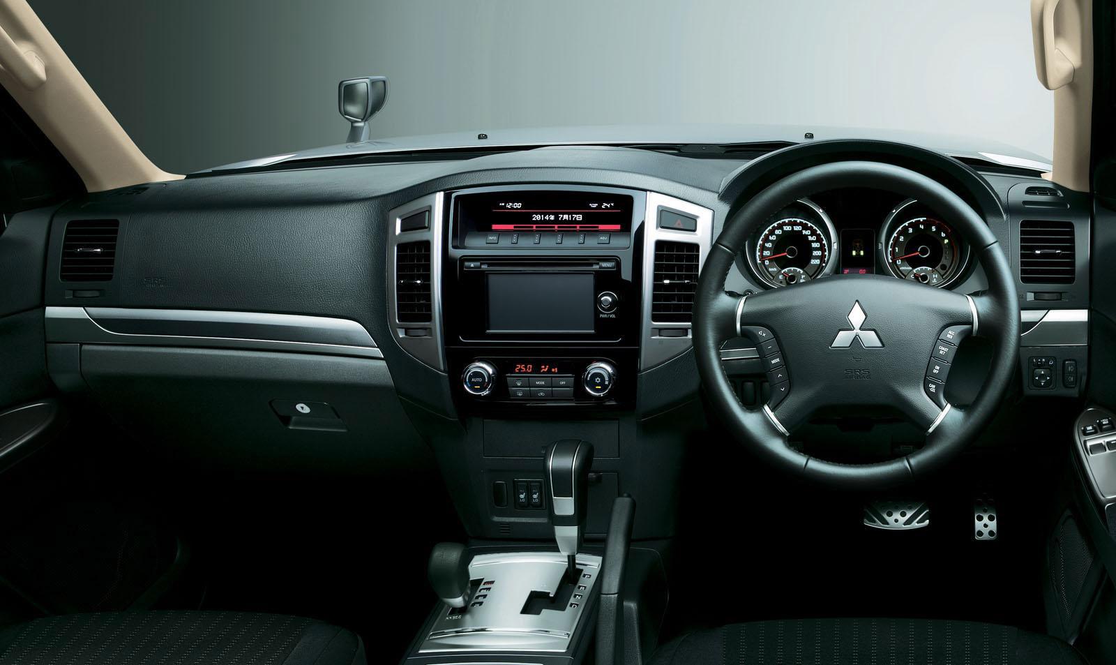 2015 Mitsubishi Outlander Sport >> 2015 Mitsubishi Pajero Facelift