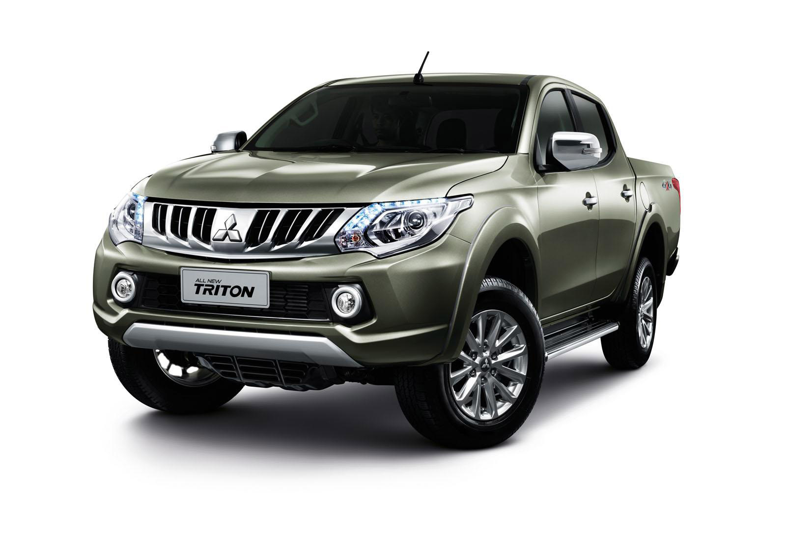 thailand gets 2015 mitsubishi triton pickup truck video. Black Bedroom Furniture Sets. Home Design Ideas