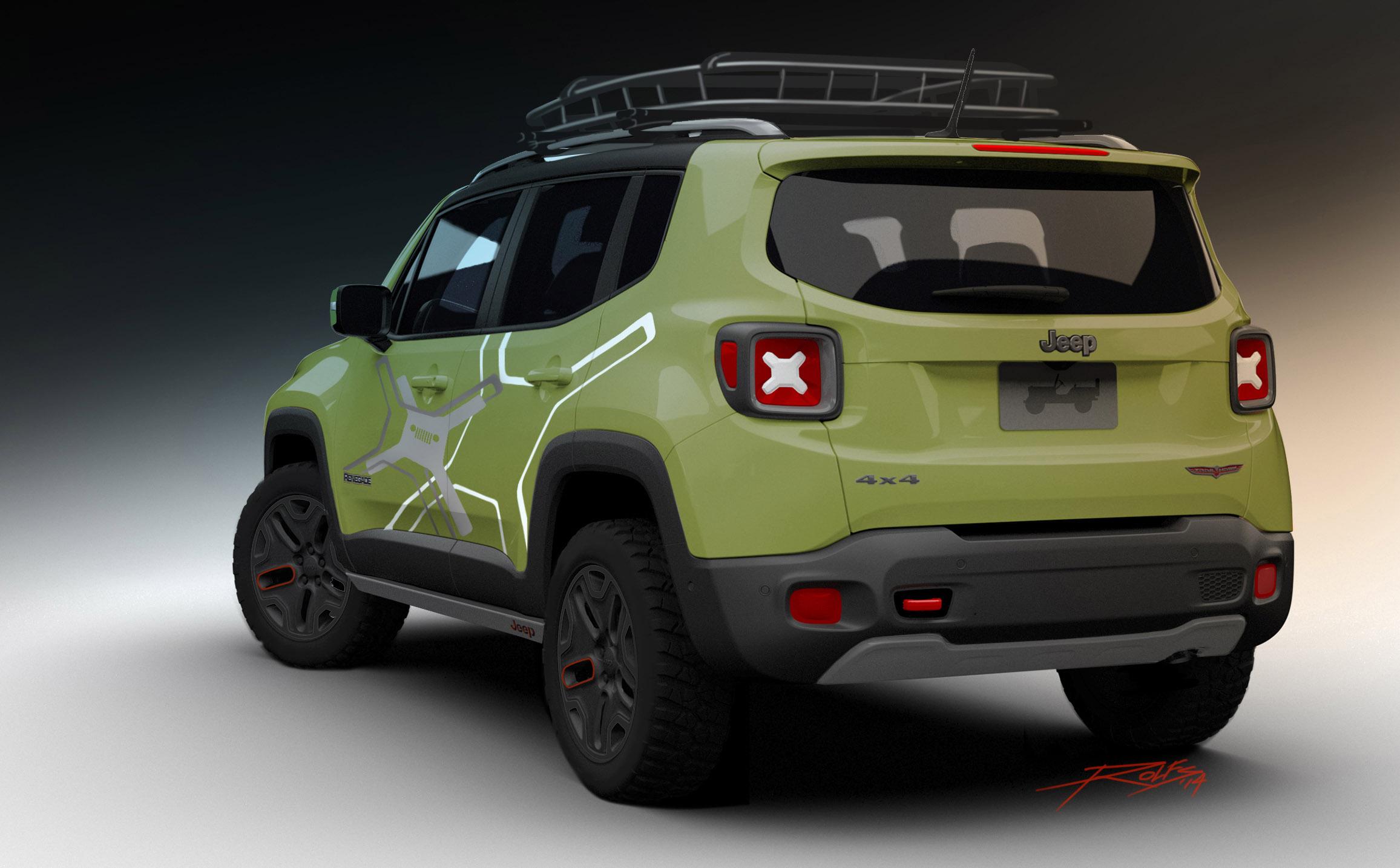 2015 Mopar Jeep Renegade Trailhawk Picture 115261
