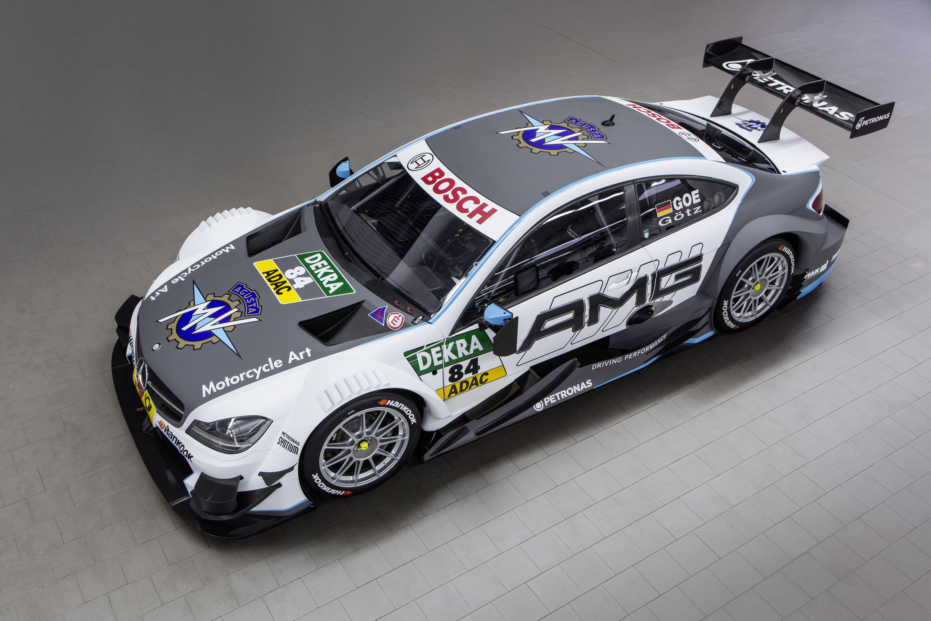 Mercedes amg c63 dtm coupe with mv agusta livery for Mercedes benz race car
