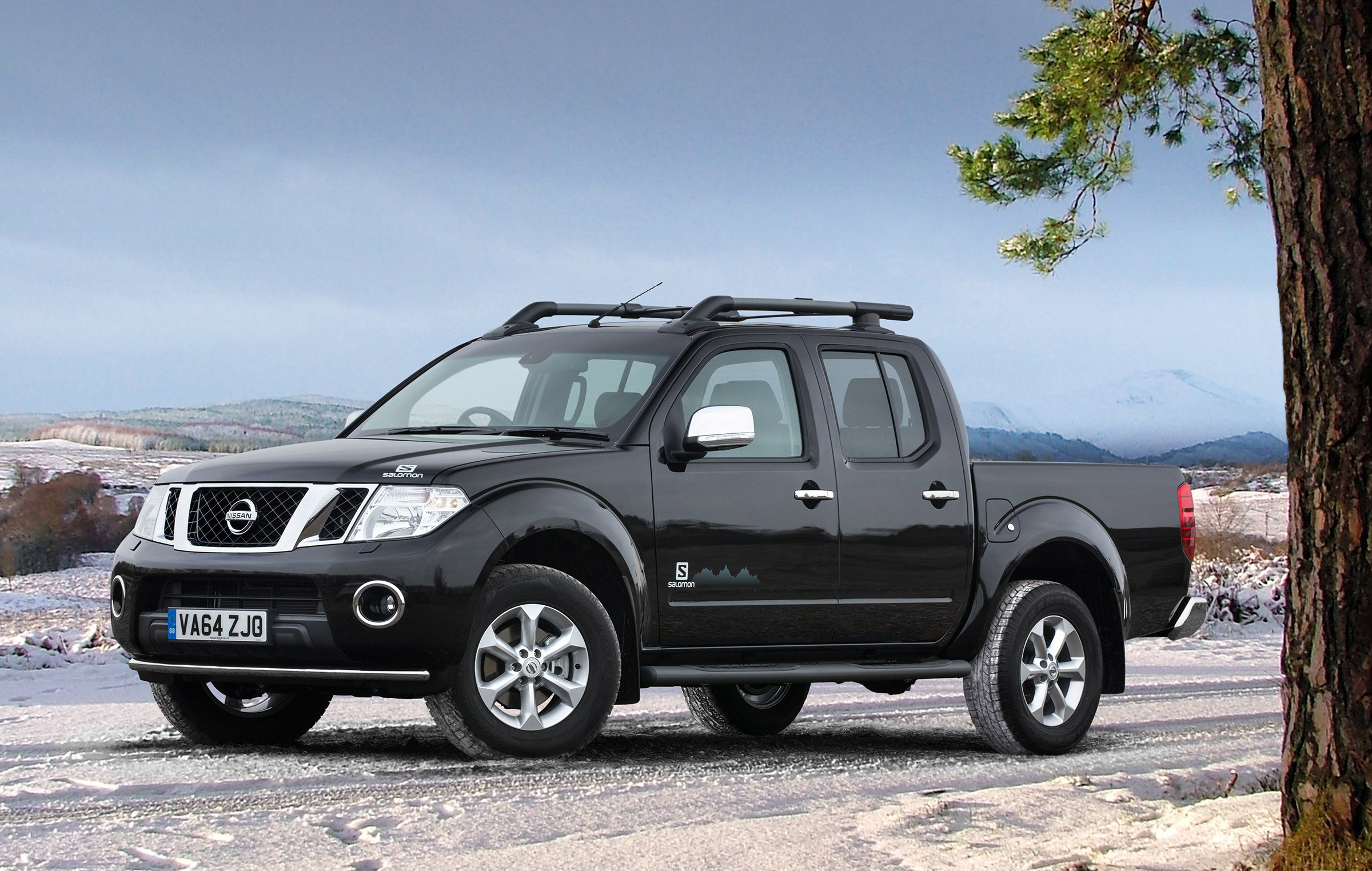 nissan releases salomon inspired navara limited edition. Black Bedroom Furniture Sets. Home Design Ideas