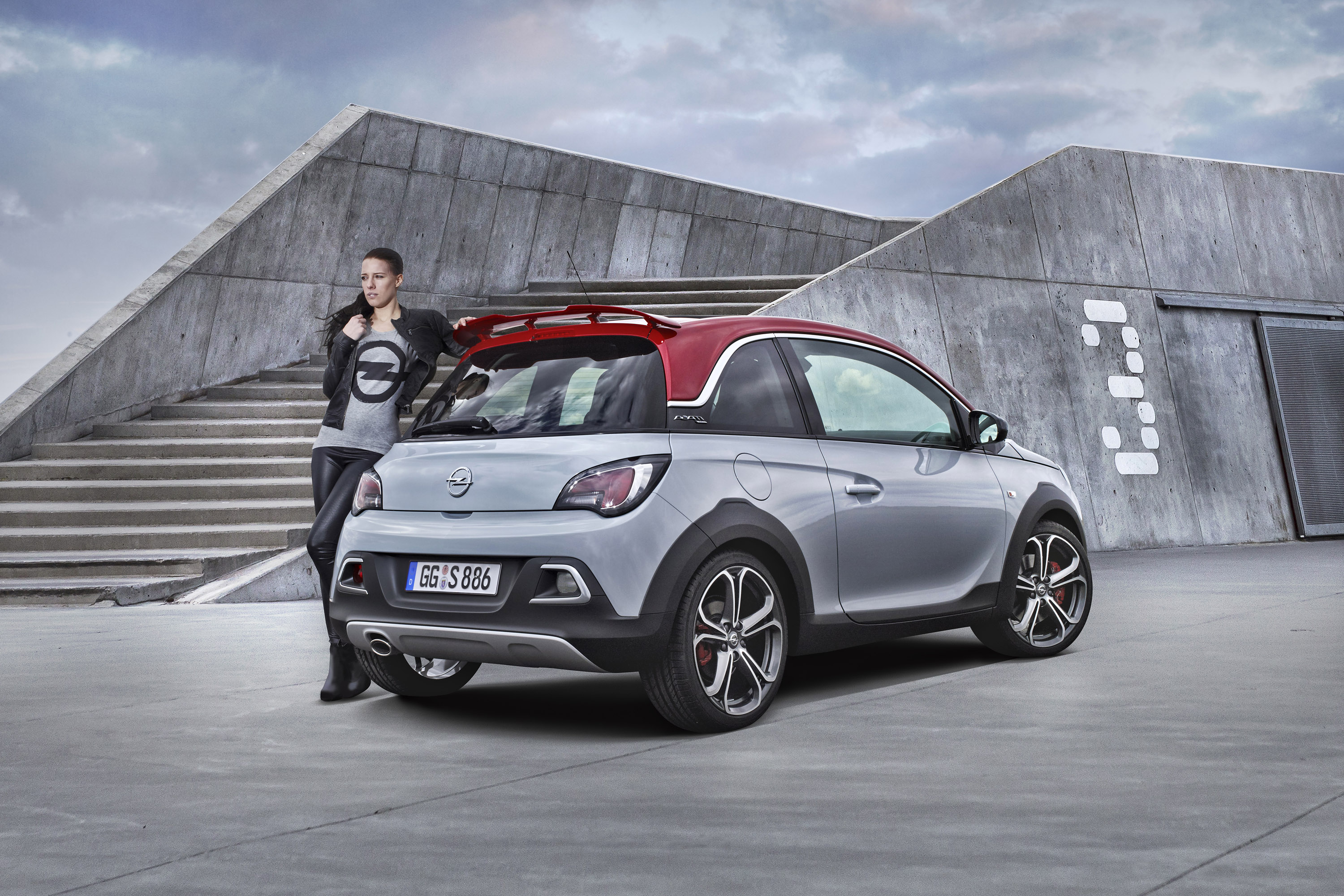 opel adam rocks s revealed. Black Bedroom Furniture Sets. Home Design Ideas