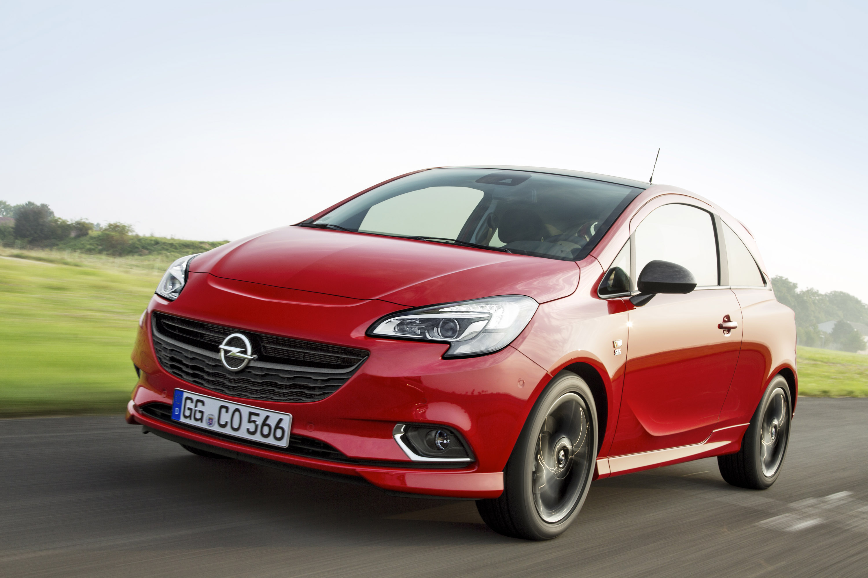 opel corsa with new 150 hp turbo engine. Black Bedroom Furniture Sets. Home Design Ideas