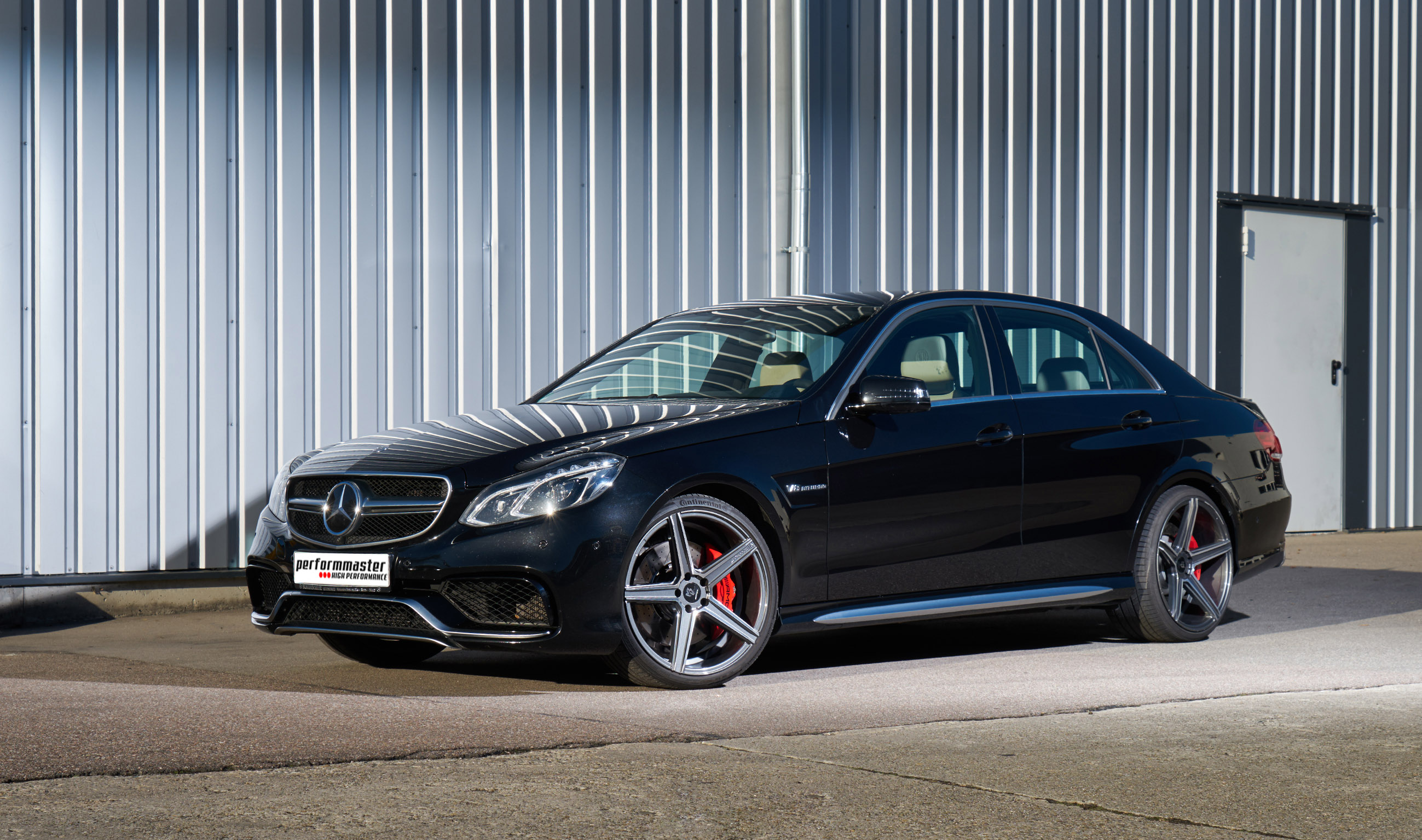 Performmaster releases mercedes benz e63 amg for Mercedes benz e amg