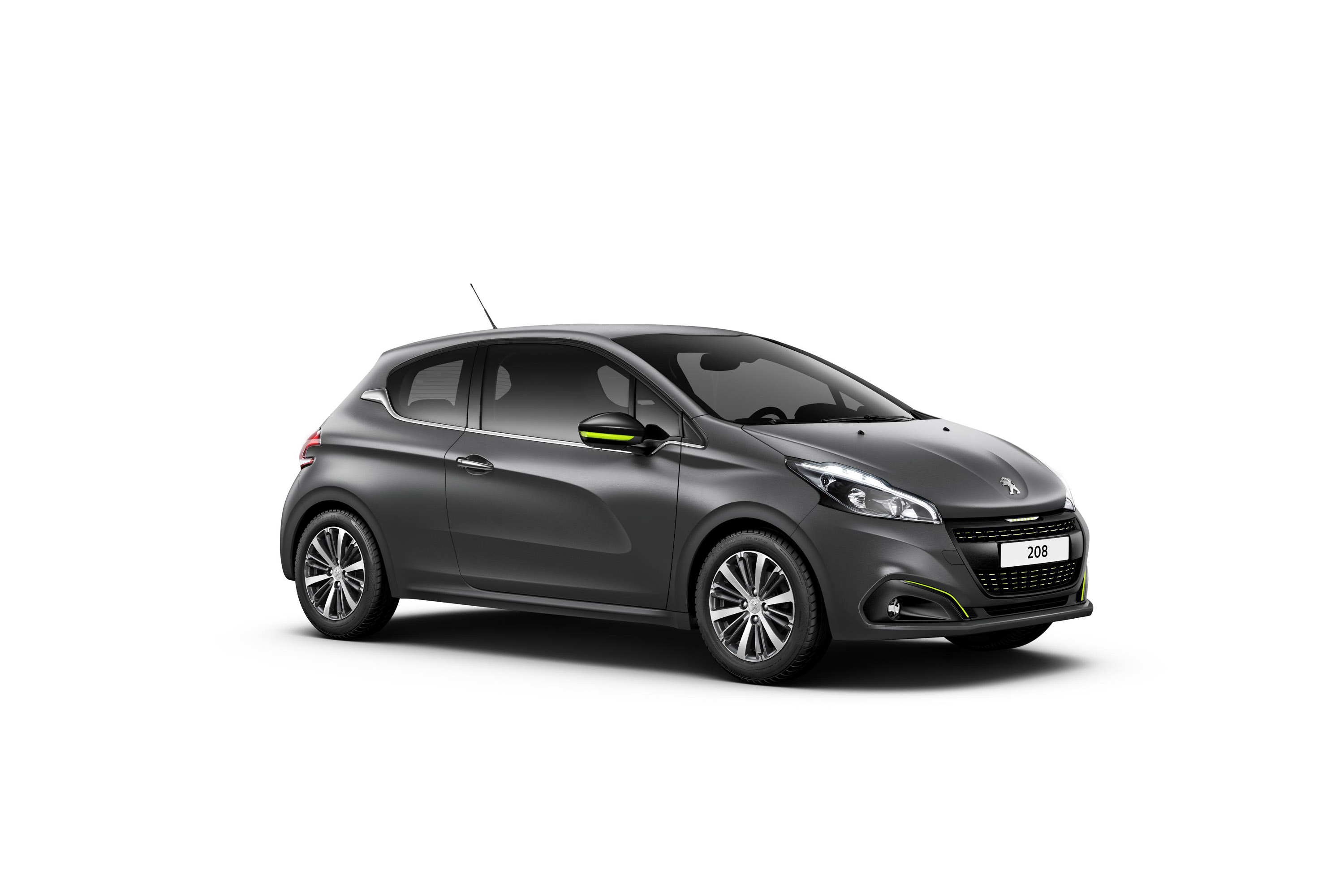 2015 Peugeot 208 Ice Silver And Ice Grey