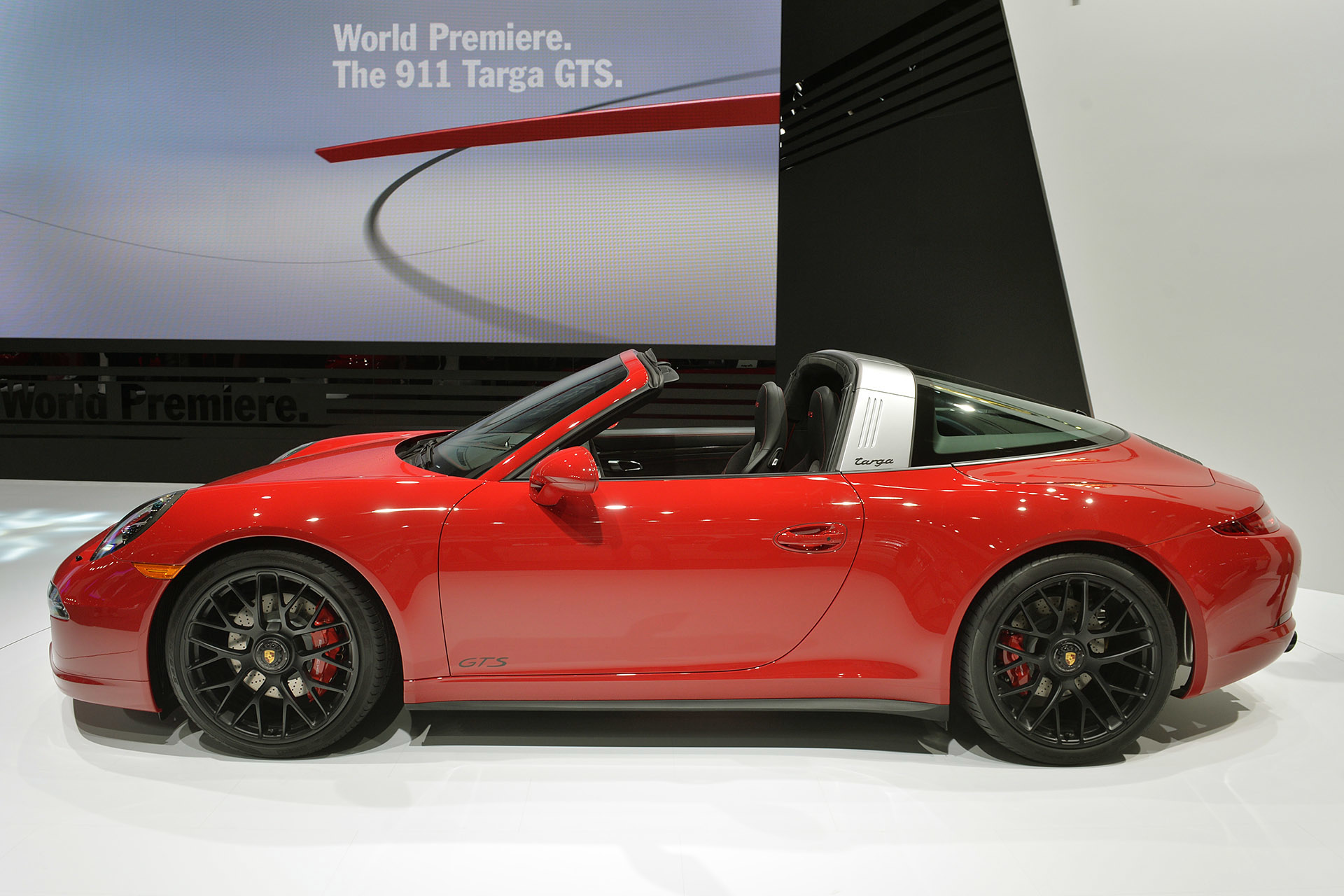 2015 Porsche 911 Targa 4 Gts With 440 Hp And Great Noise
