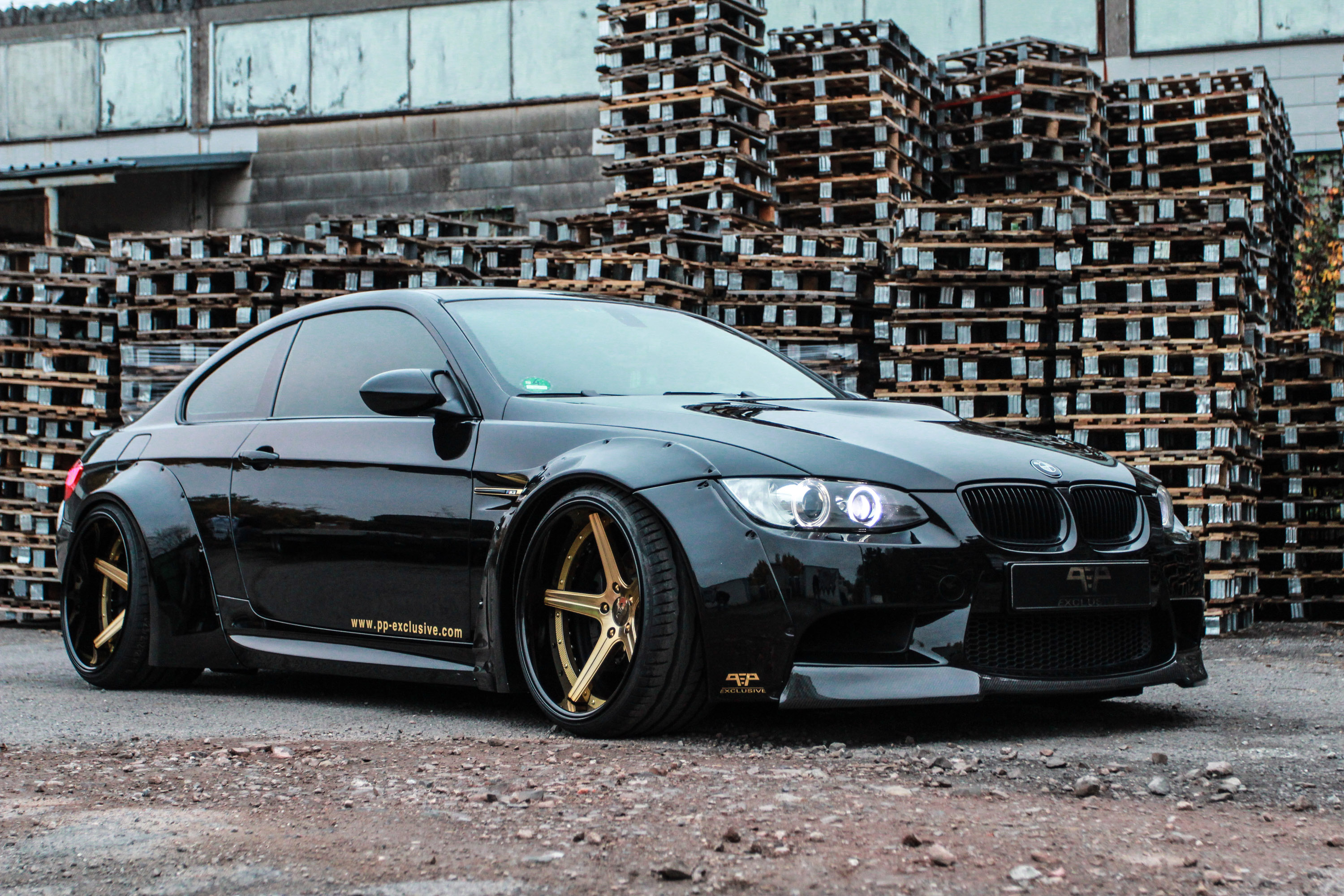 pp exclusive and liberty walk unite for monstrous bmw m3 based tuning. Black Bedroom Furniture Sets. Home Design Ideas