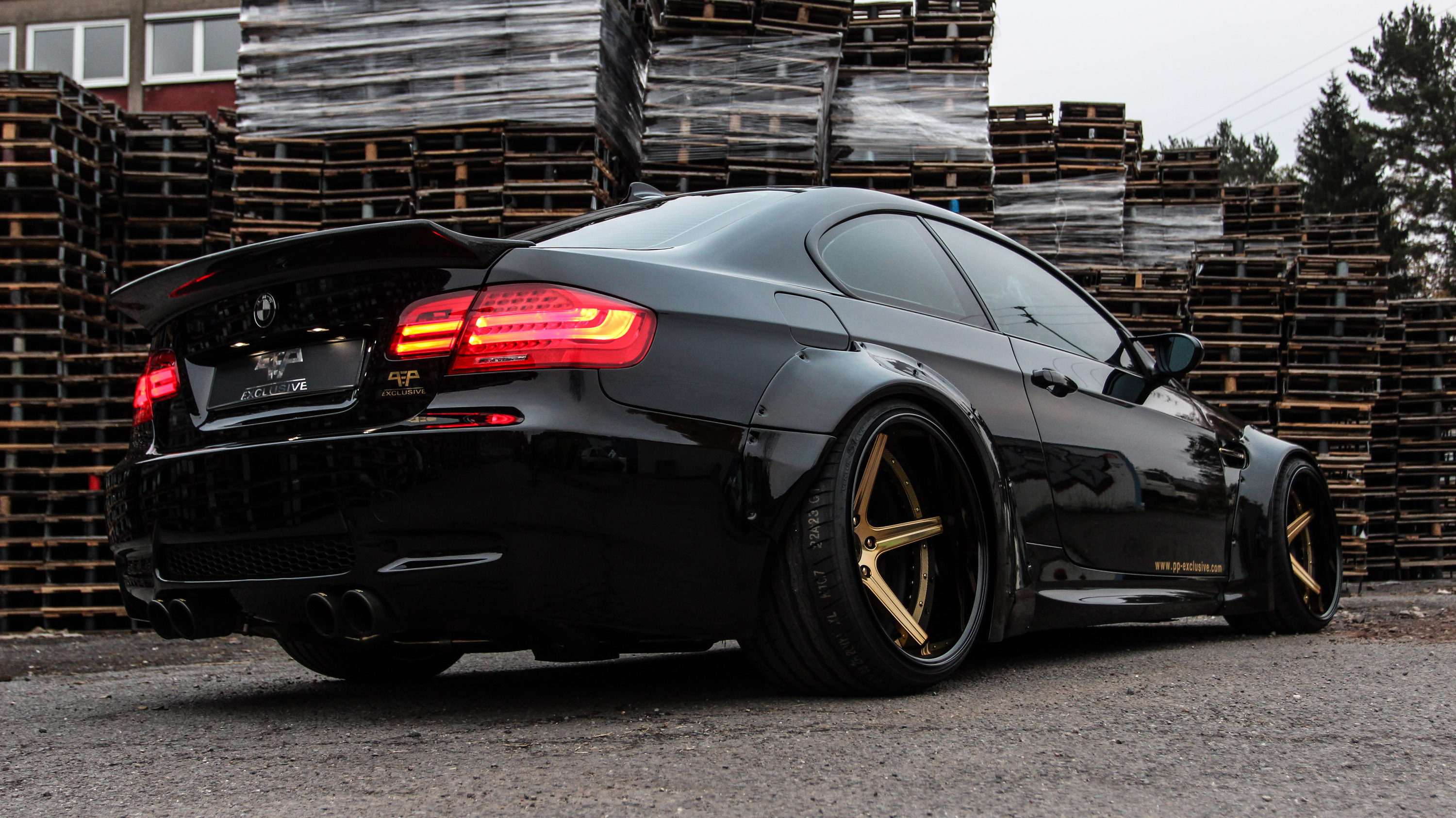 pp exclusive and liberty walk unite for monstrous bmw m3. Black Bedroom Furniture Sets. Home Design Ideas