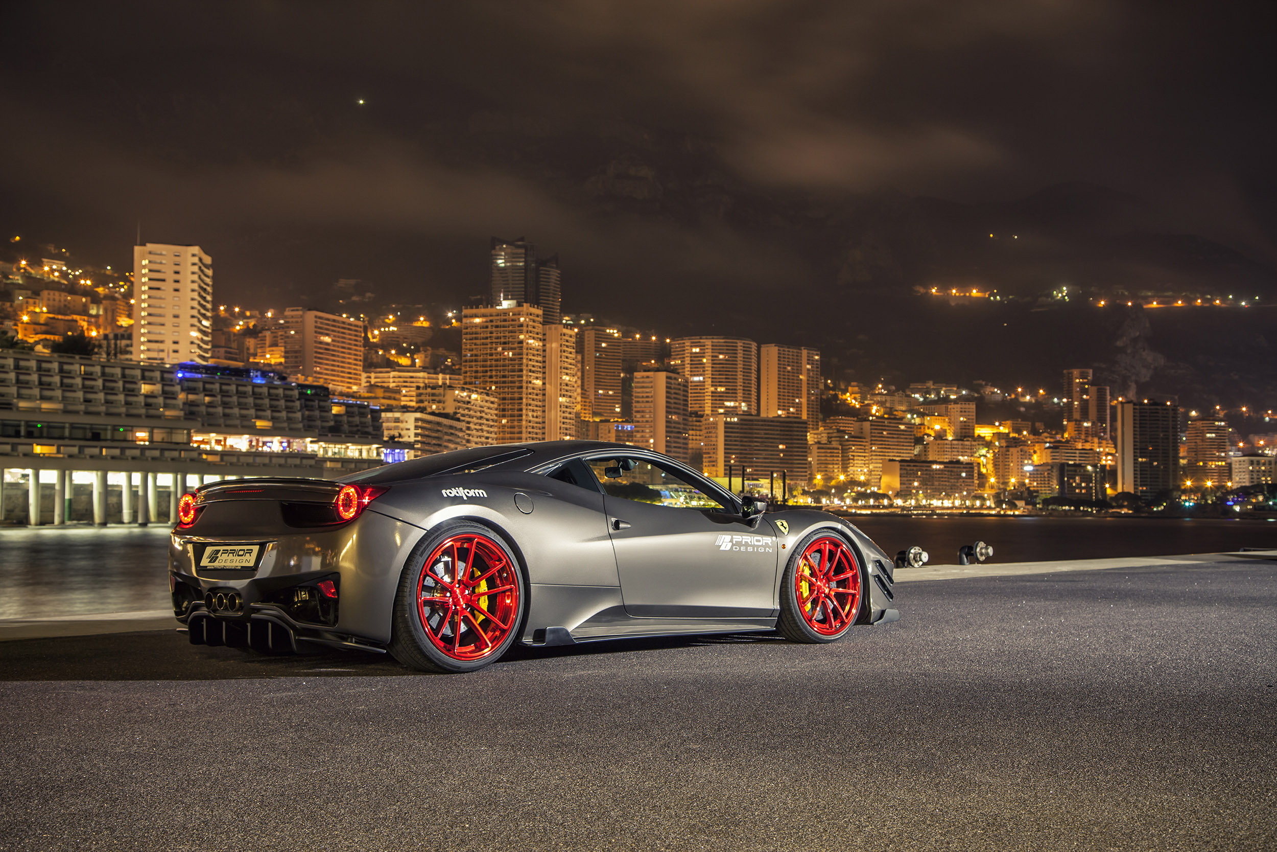 prior design ferrari 458 italia wows at top marques monaco. Black Bedroom Furniture Sets. Home Design Ideas