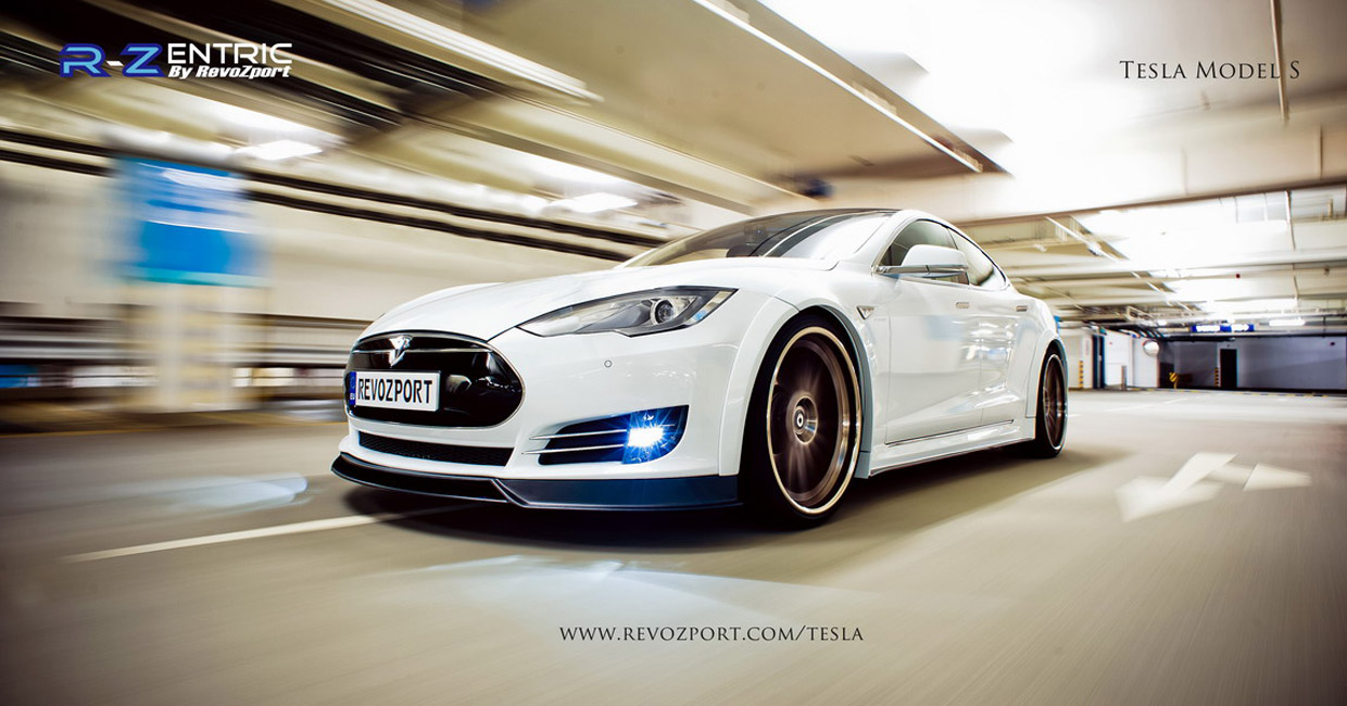 R Zentric Is The New Quot Black Quot For Tesla Model S Video