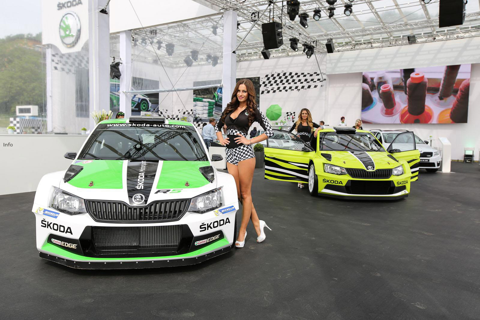 Skoda Fabia R5 Combi Revealed At W 246 Rthersee