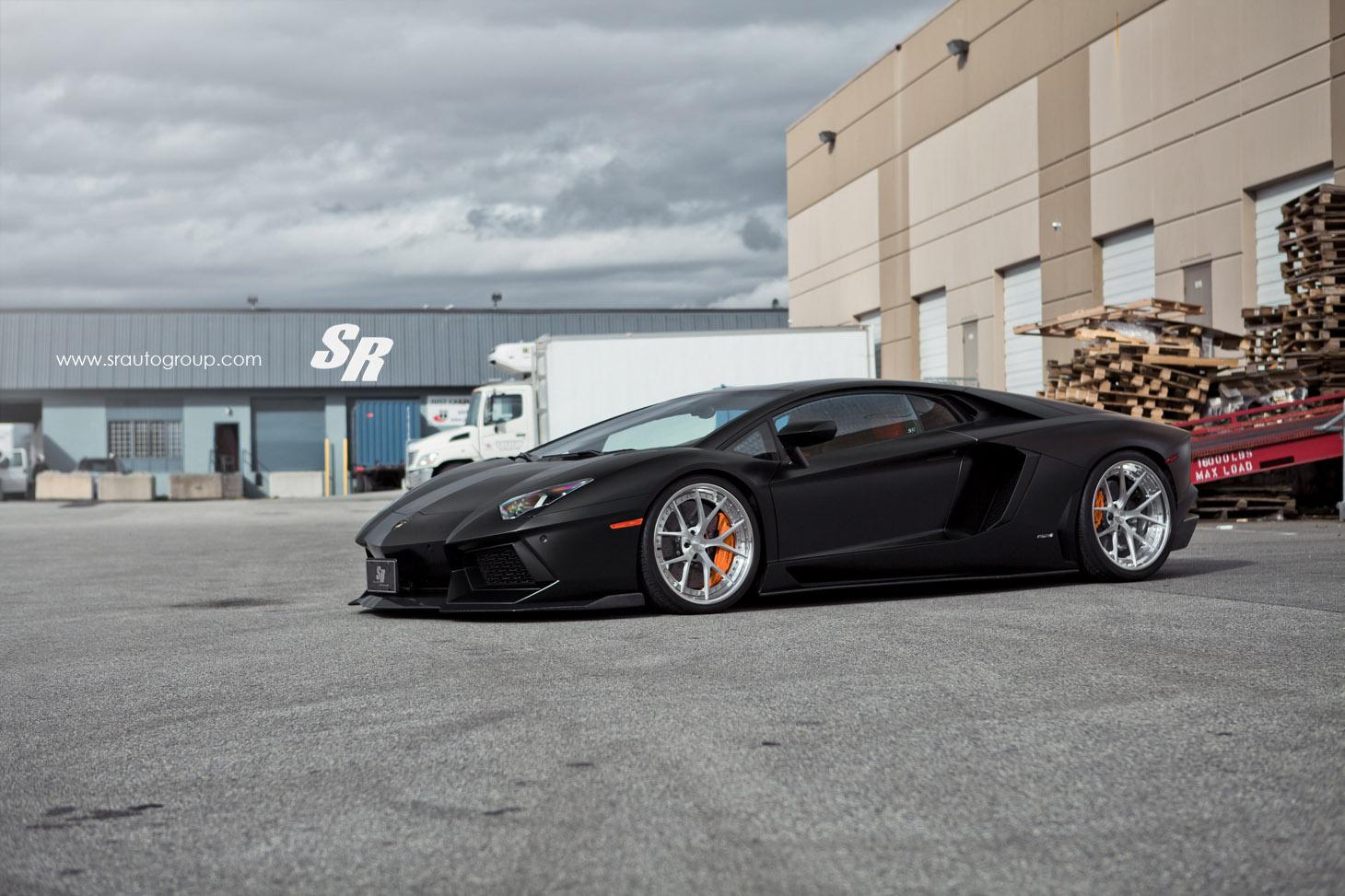 Sr Auto Surprises With Aero Package For Lamborghini Aventador