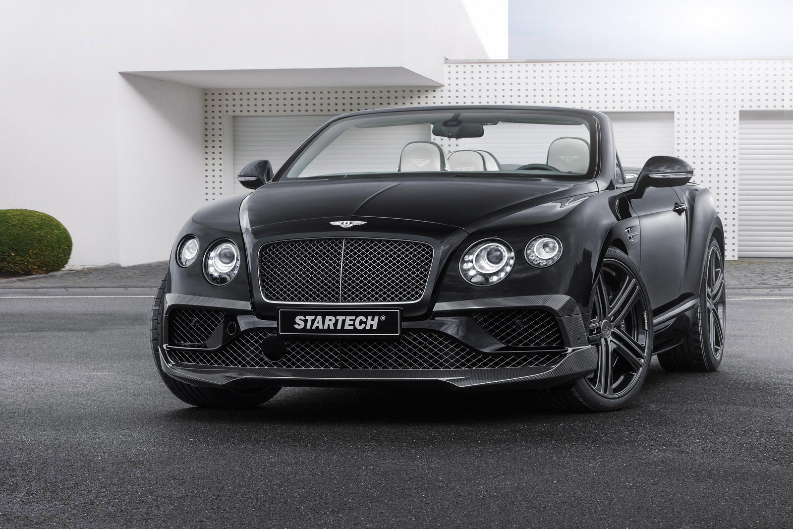 startech displays sportier bentley continental cabriolet in frankfurt. Black Bedroom Furniture Sets. Home Design Ideas