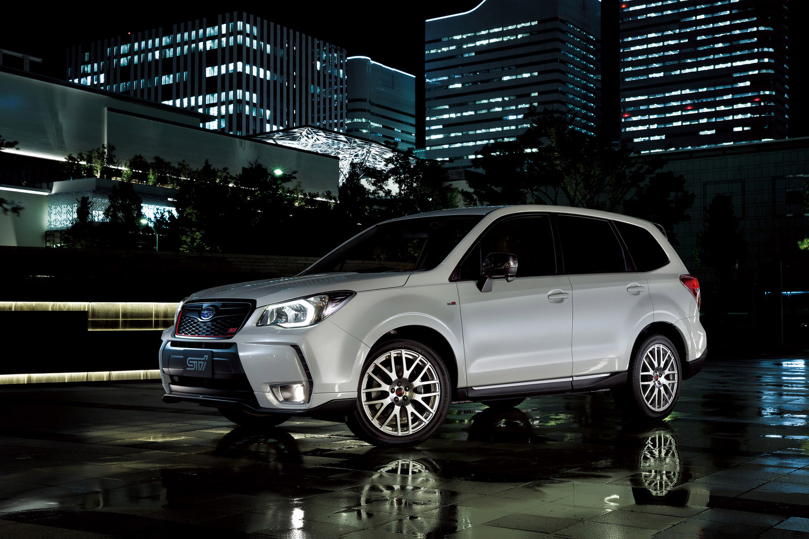"STI Releases Subaru ""Forester tS"" Exclusively in Japan"