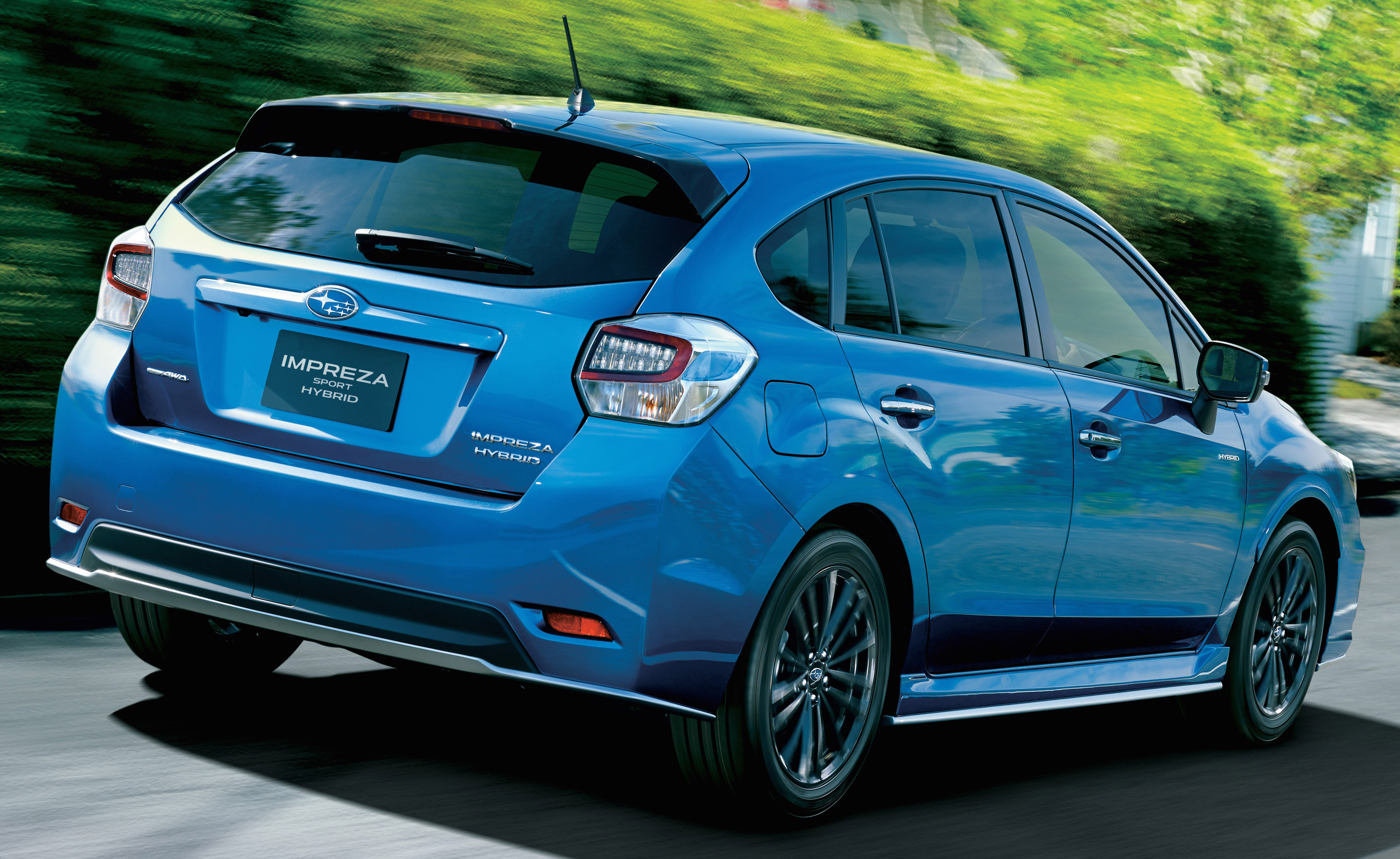 What Is Subaru Eyesight >> 2015 Subaru Impreza Sport Hybrid Introduced in Japan