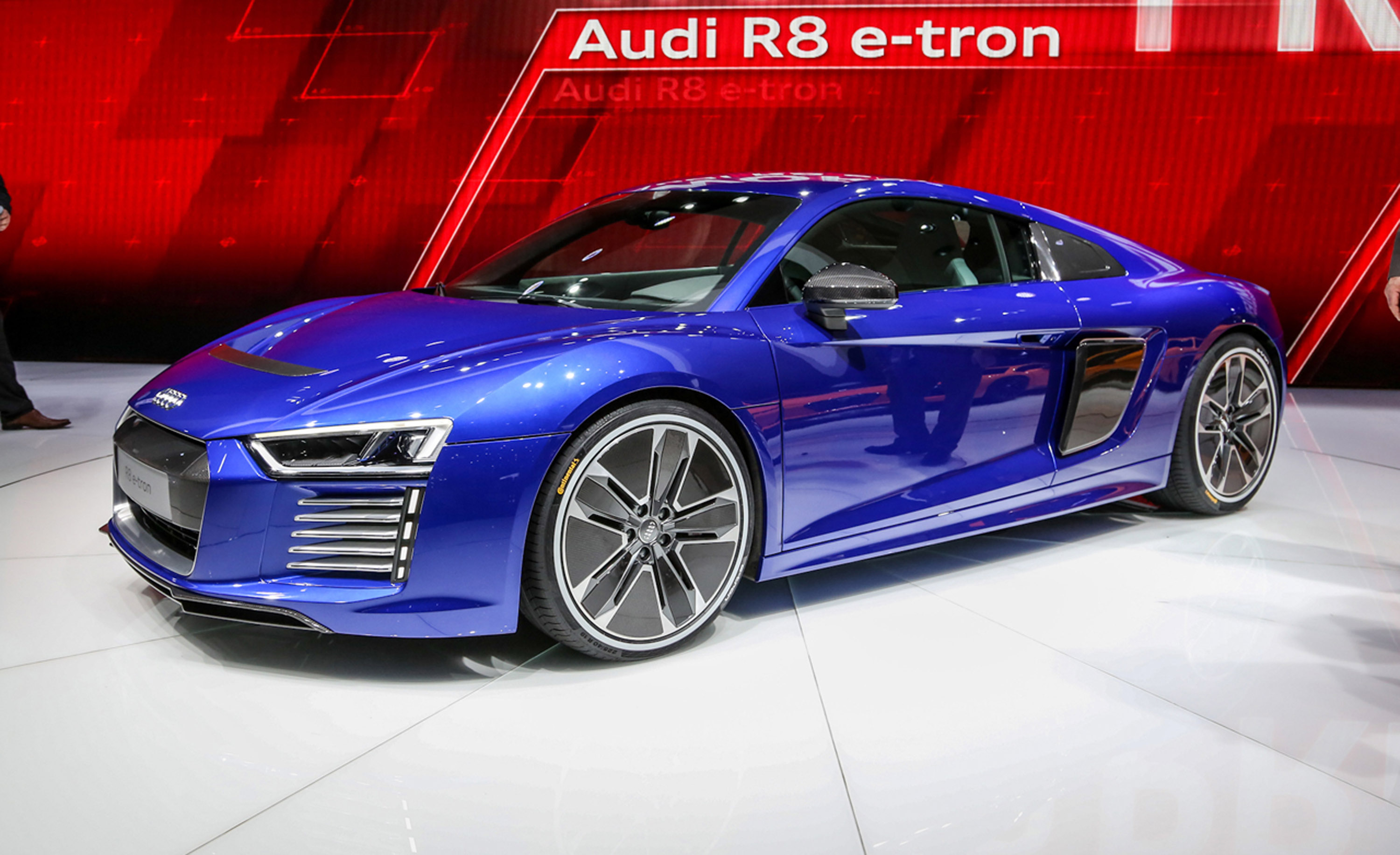 2017 The Audi R8 E Tron Piloted Driving Concept Car 1 6
