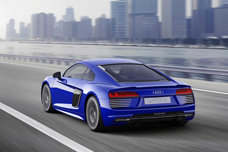 ... 2015 The Audi R8 E Tron Piloted Driving Concept Car, ...