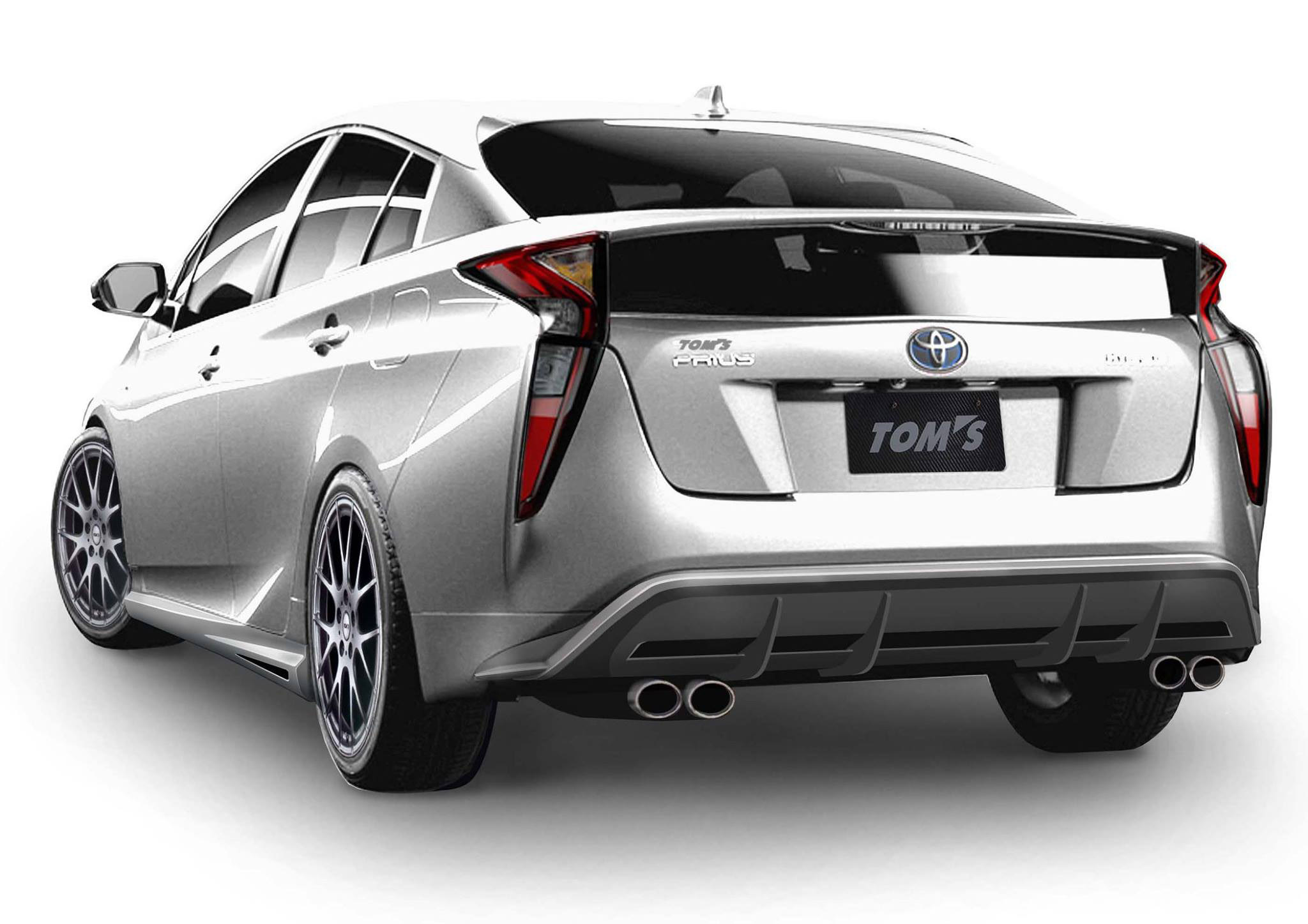 tom s racing with aero kit for toyota prius. Black Bedroom Furniture Sets. Home Design Ideas