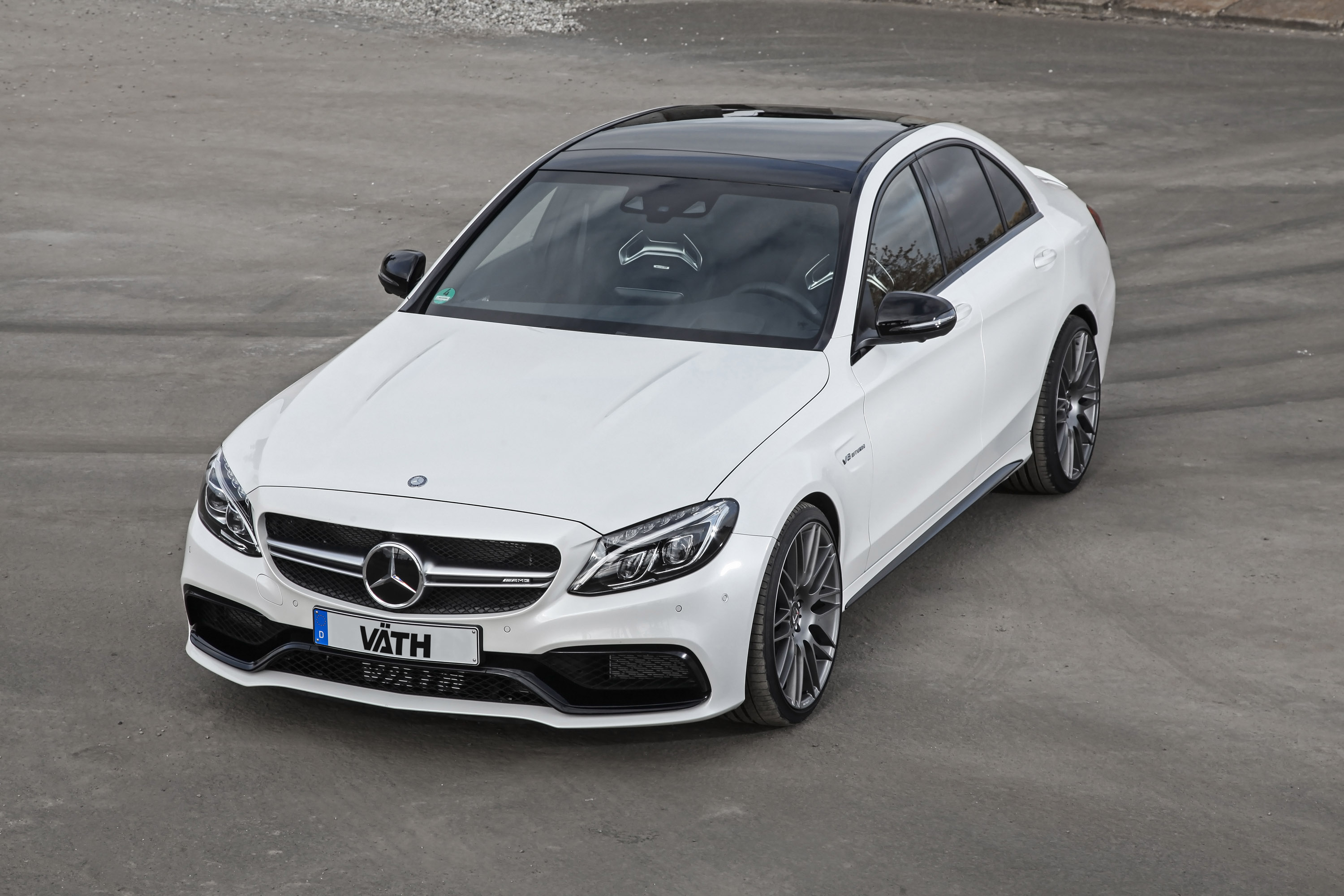 Vaeth mercedes benz c63 amg with up to 680 horsepower for C63 mercedes benz