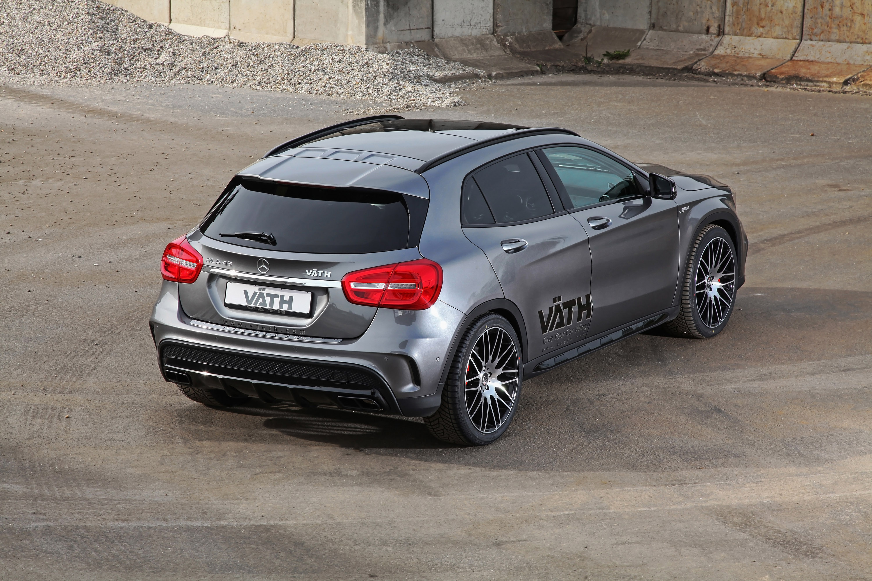 V 196 Th Creates More Powerful Mercedes Benz Gla 45 Amg