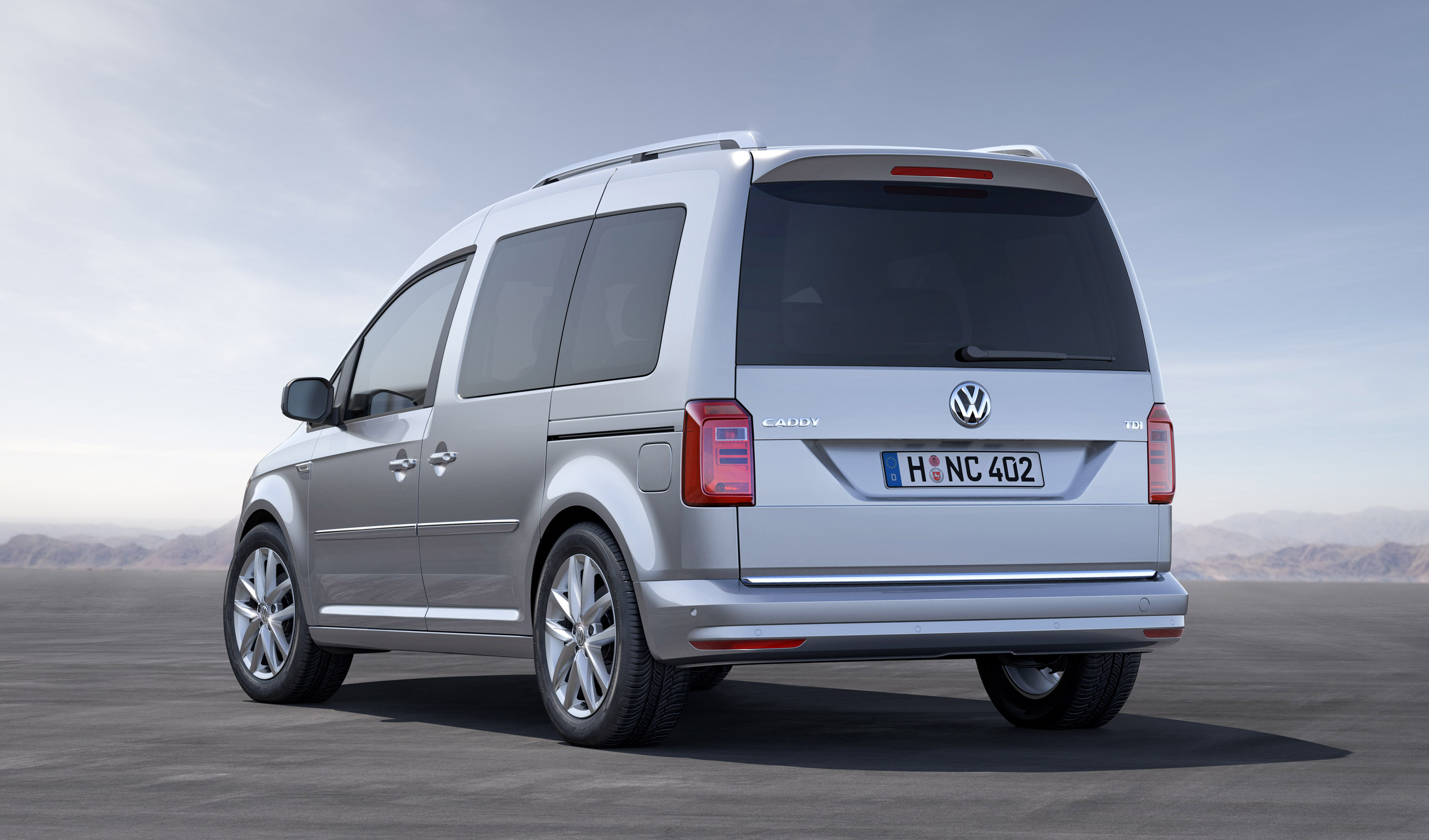 The New Volkswagen Caddy With A Variety Of Engines