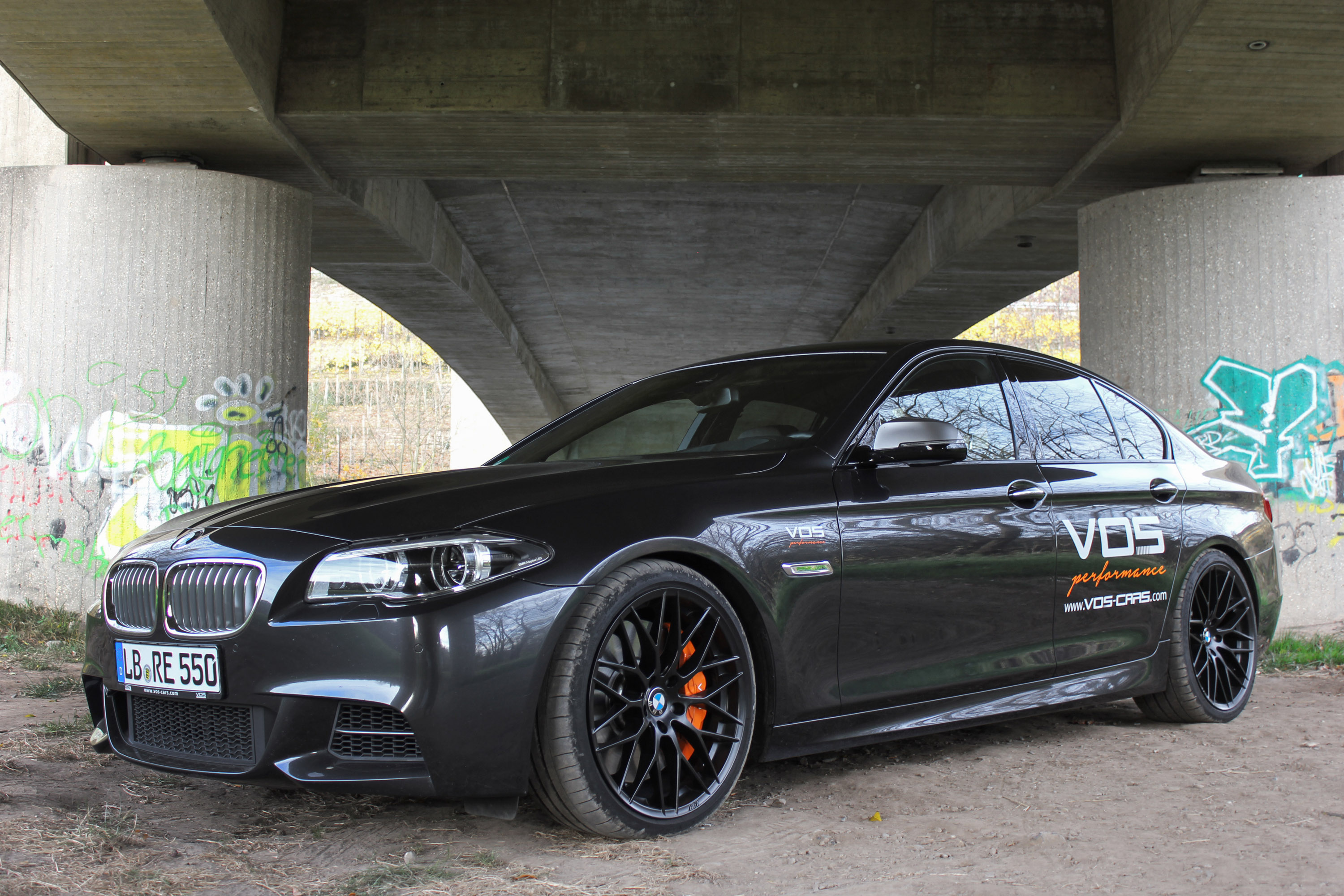 Vos Upgrades The Bmw M550d Model