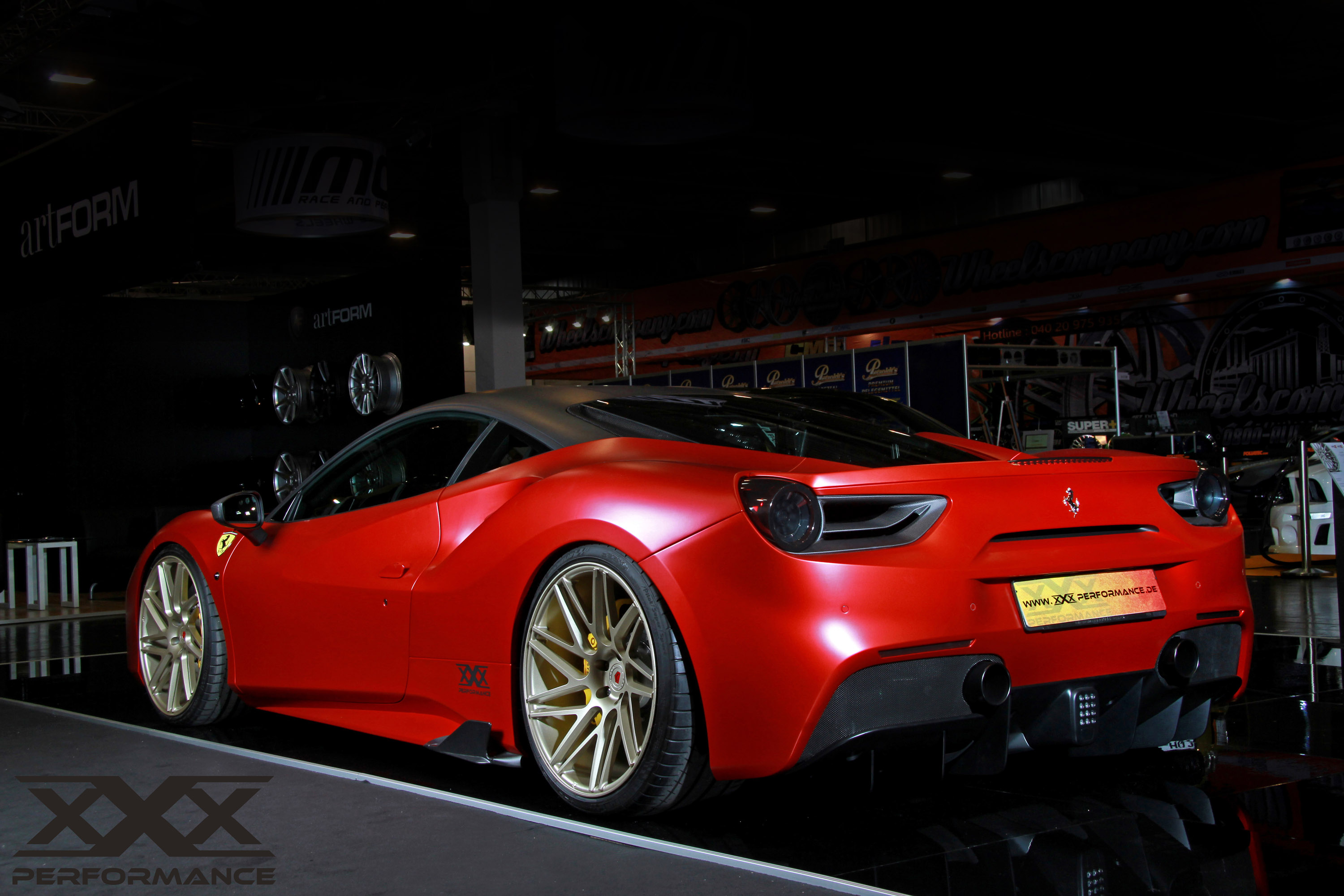 Xxx Performance Ferrari 488 Gtb Makes Furore At The Essen
