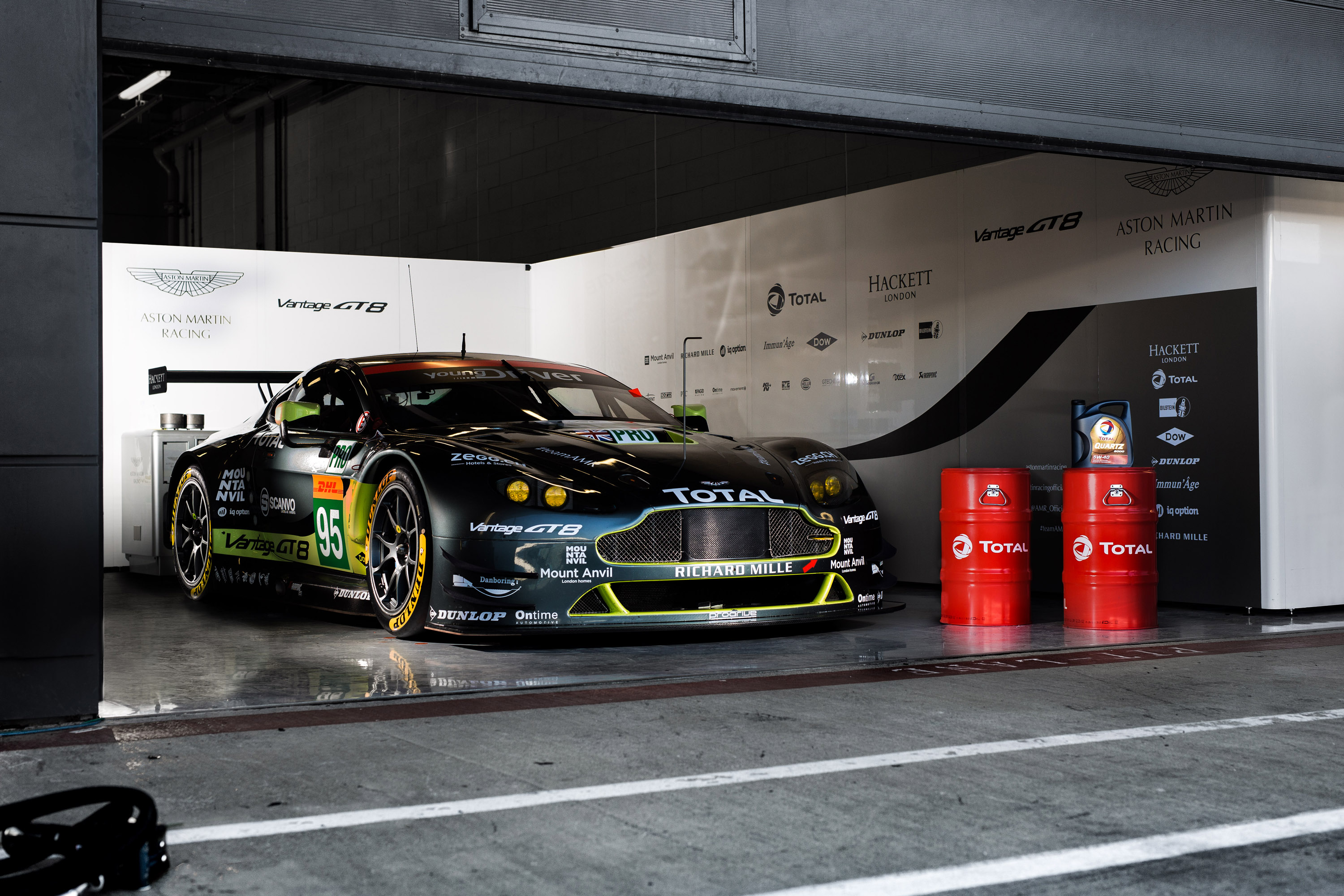 Aston Martin and Total would explore the world of WEC together