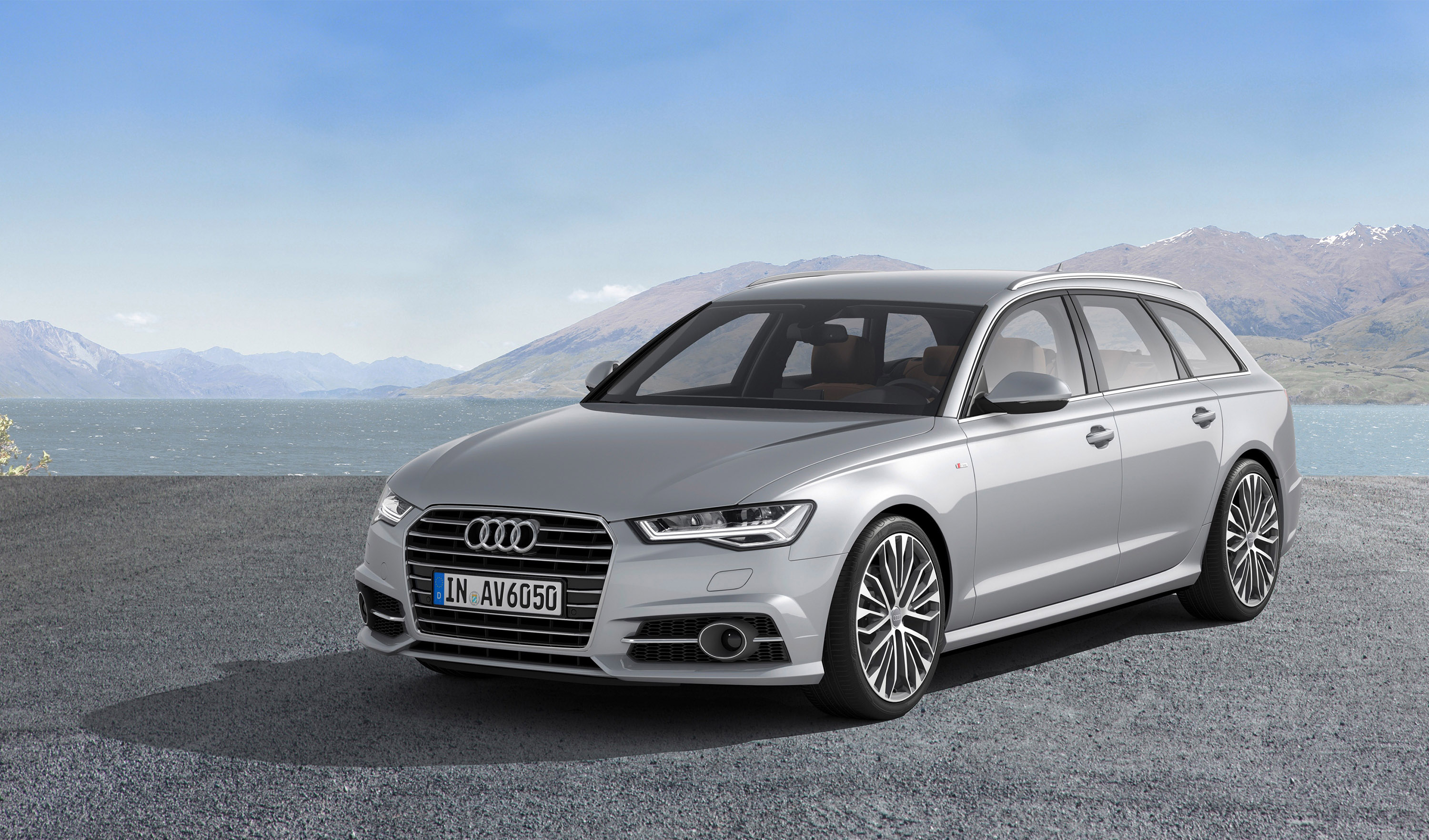 Audi a6 and a7 facelifts revealed for Lunghezza audi a6 avant 2016