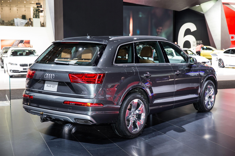 2016 Audi Q7 Scoops The Quot Best Designed Interior Quot Award