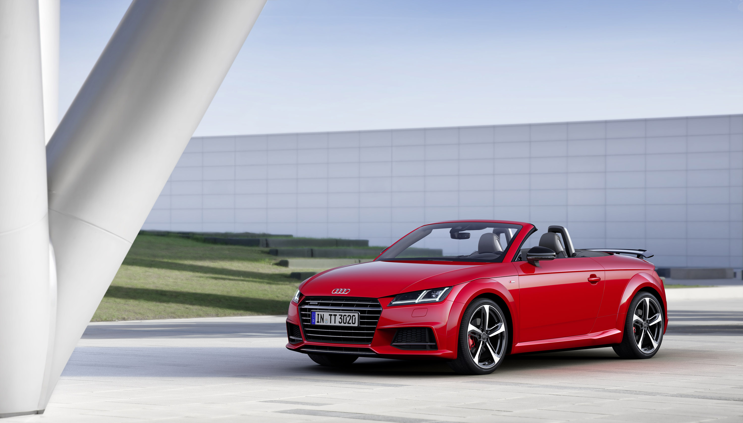 2016 audi tt s line limited edition comes to rule the streets. Black Bedroom Furniture Sets. Home Design Ideas
