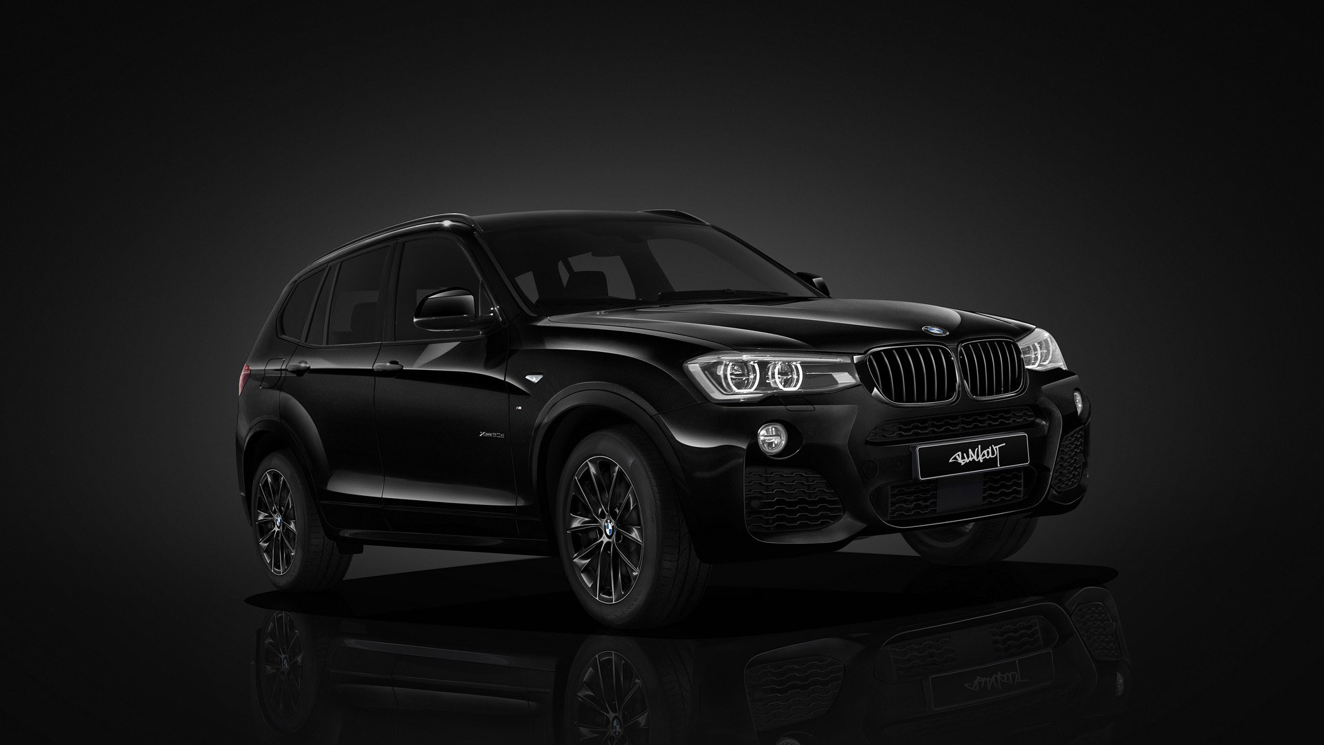 bmw introduces x3 blackout edition in japan. Black Bedroom Furniture Sets. Home Design Ideas