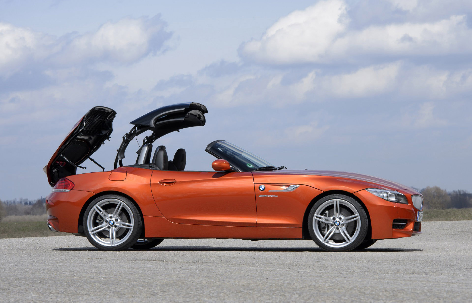 2016 Bmw Z4 E89 Sdrive35 In Valencia Orange Metallic Picture 133512