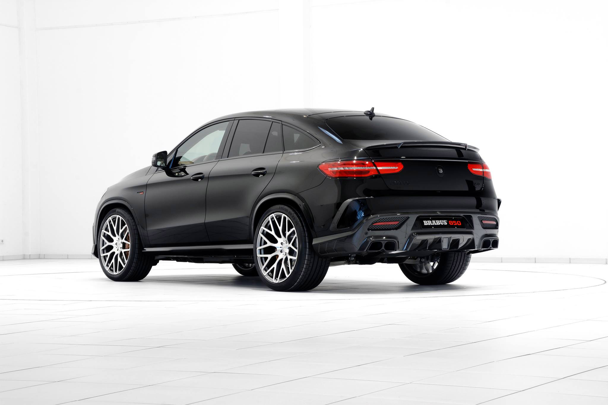 brabus mercedes benz gle 63 coupe with 850hp