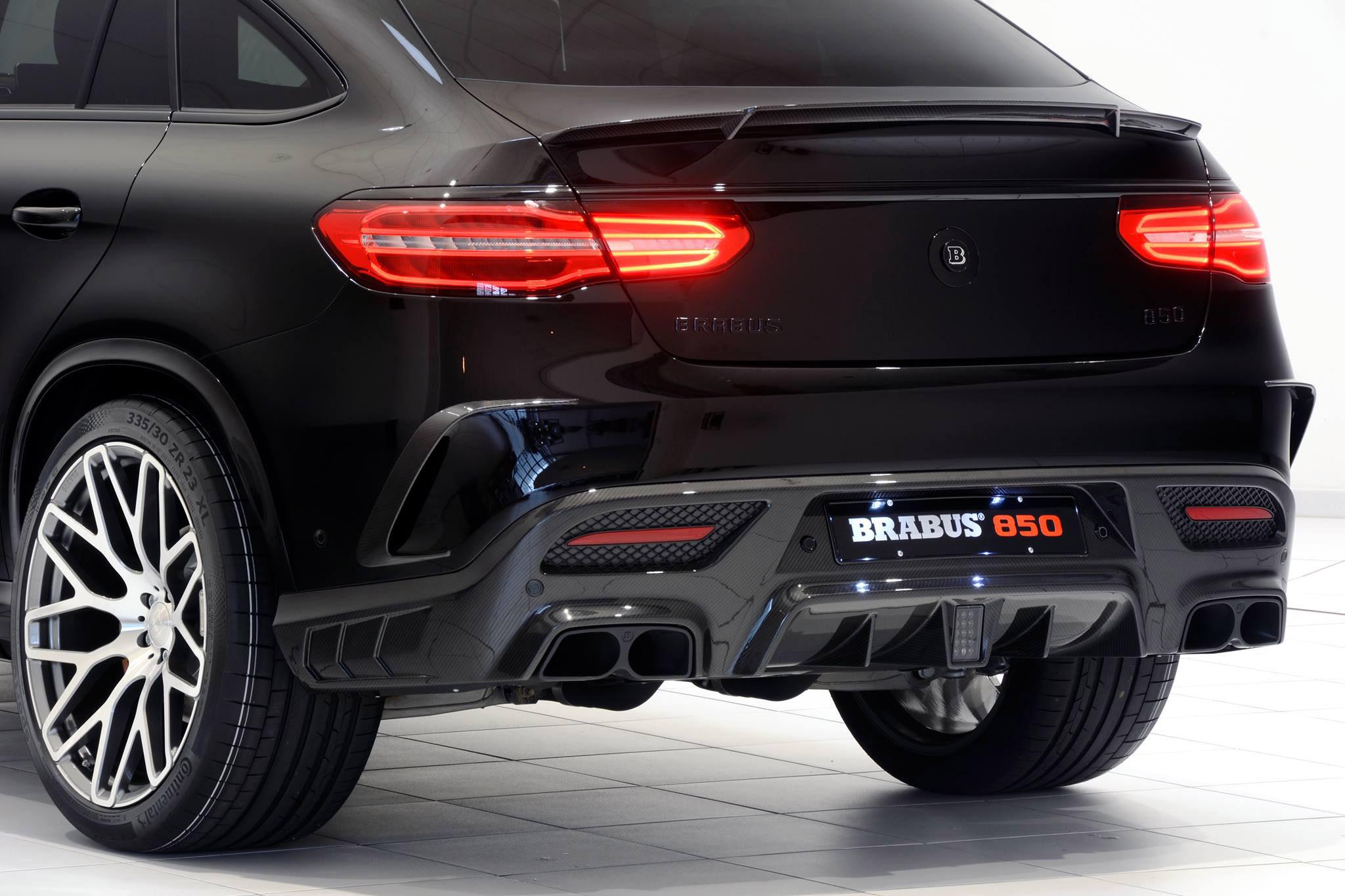 BRABUS GLE 850 6.0 Biturbo Coupe - Cold Start &amp- REVS! - YouTube