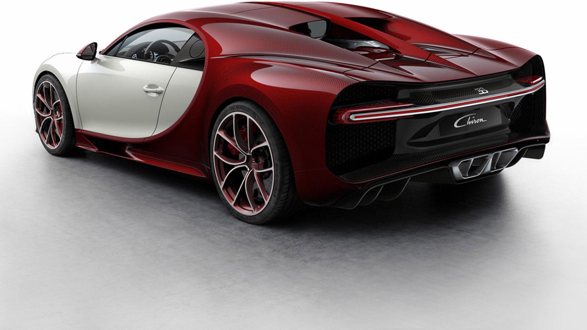 Bugatti Launches the Chiron Colorizer