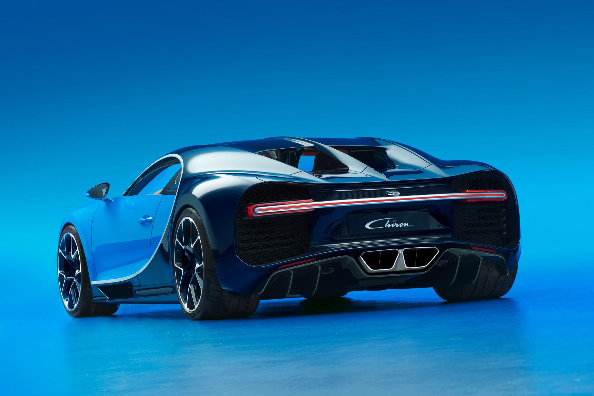Bugatti Chiron Is Making 2016 Geneva Debut