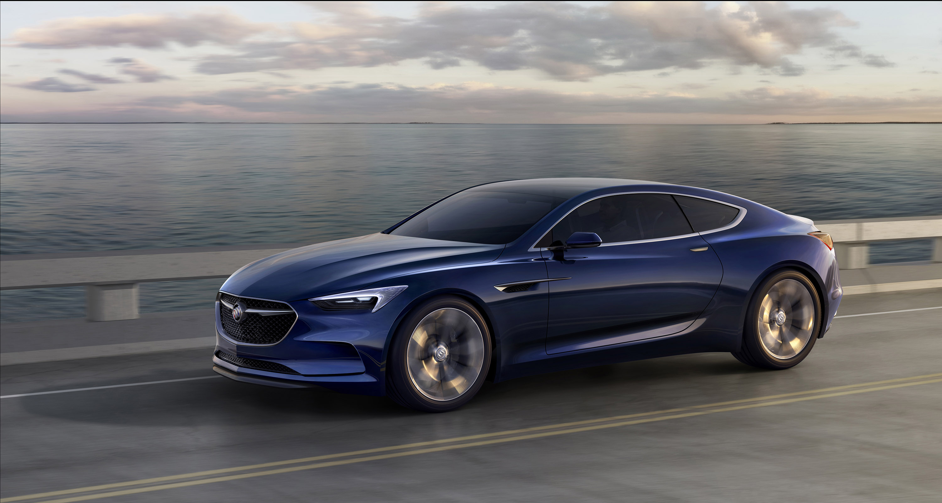 Image 10 Of 50 Buick Avista Concept 2017 Part 2016 1951 Super Convertible Unveils