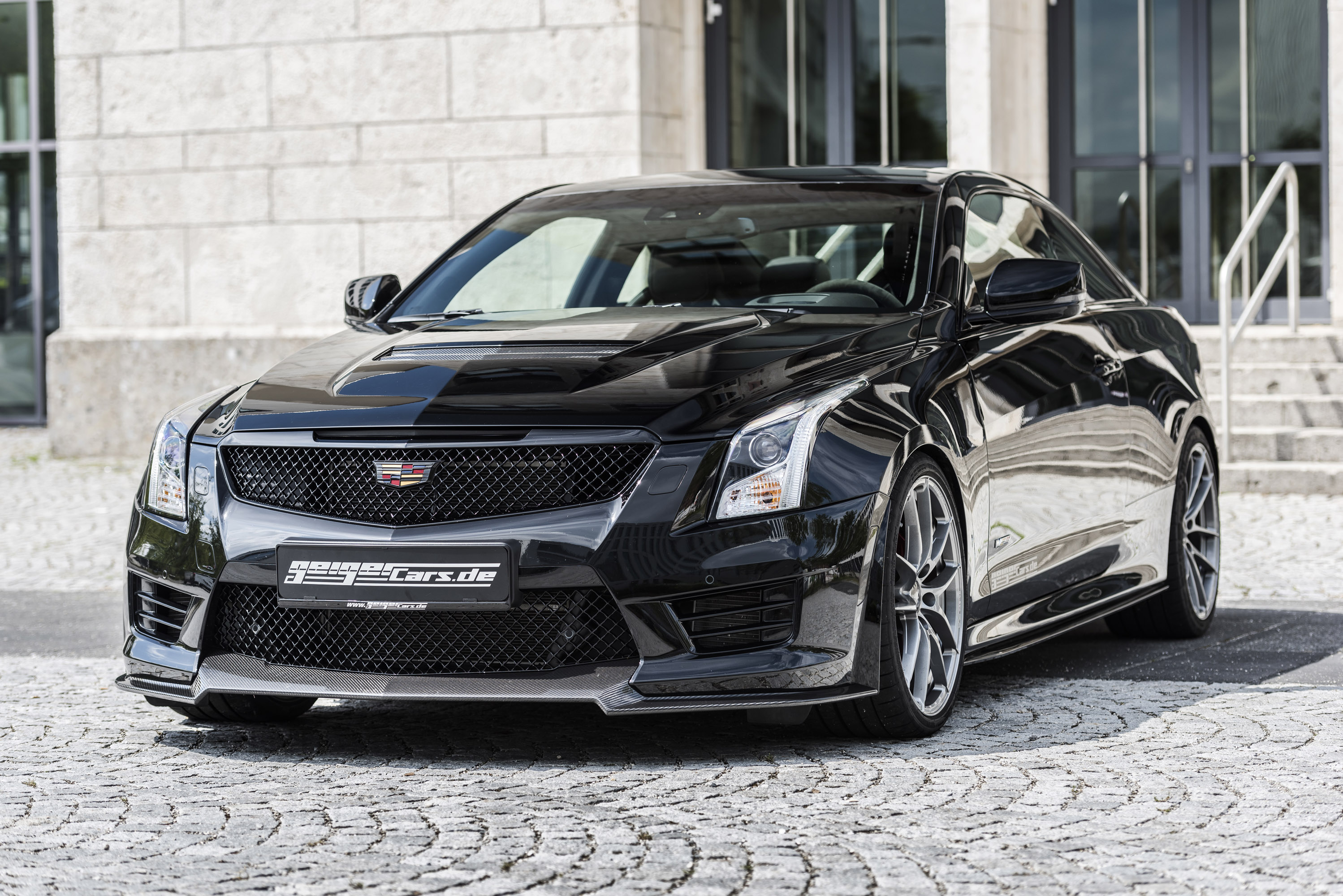 2016 cadillac ats v coupe twin turbo black line 2 of 16. Black Bedroom Furniture Sets. Home Design Ideas