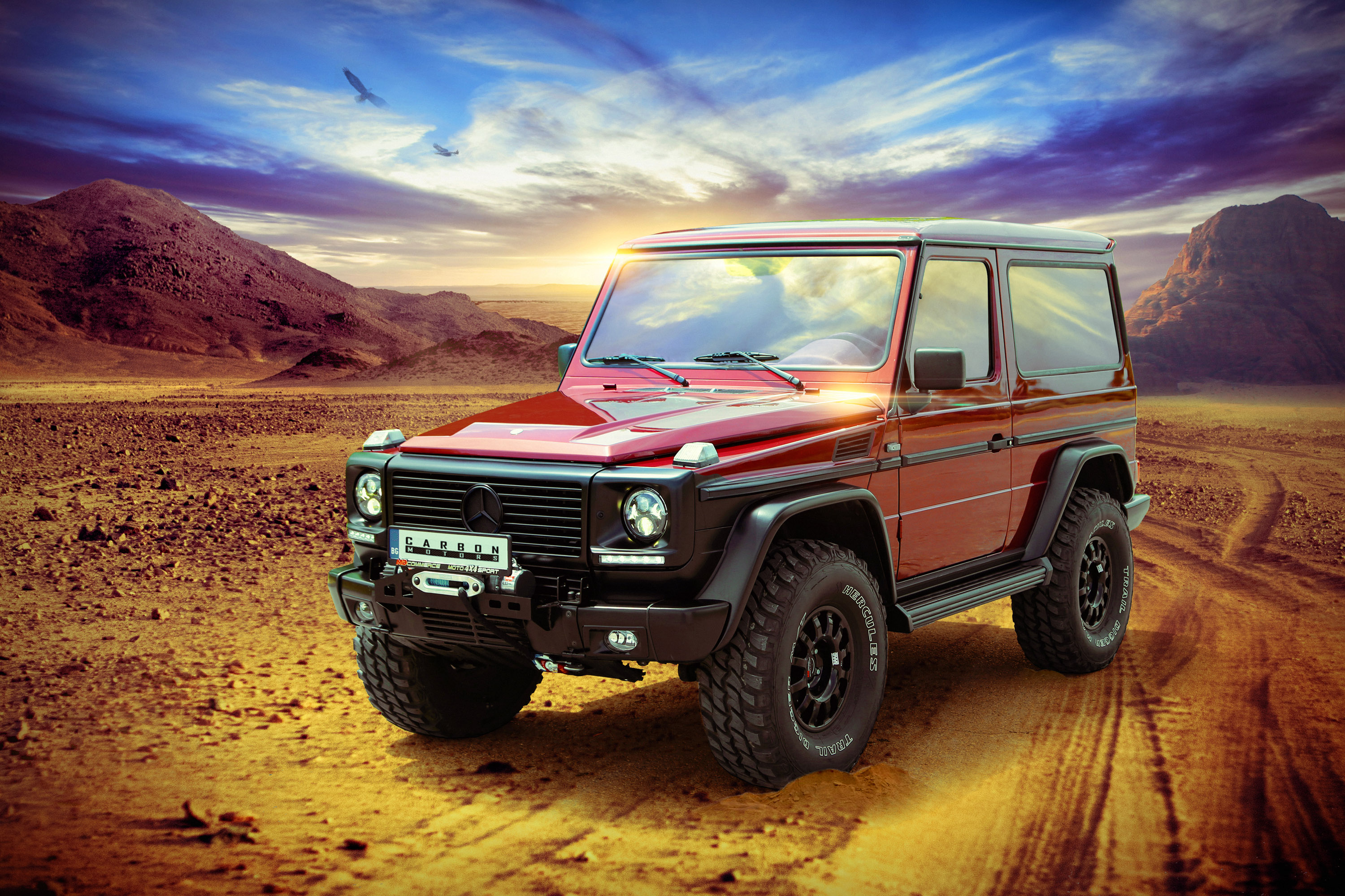 Carbon motors introduces tuned mercedes benz g500 w463 for Mercedes benz g 500