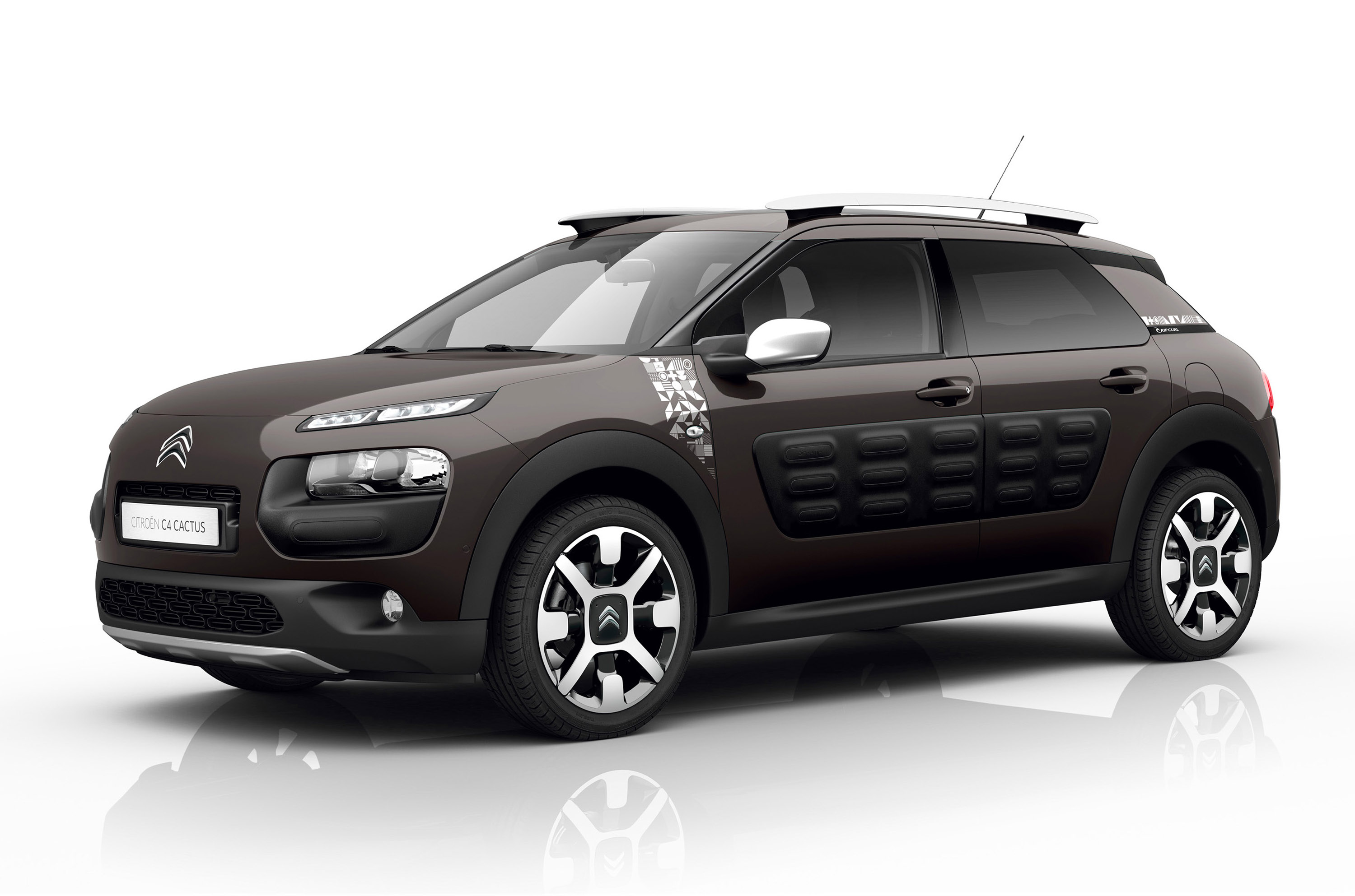 citroen and rip curl present a special c4 cactus model. Black Bedroom Furniture Sets. Home Design Ideas