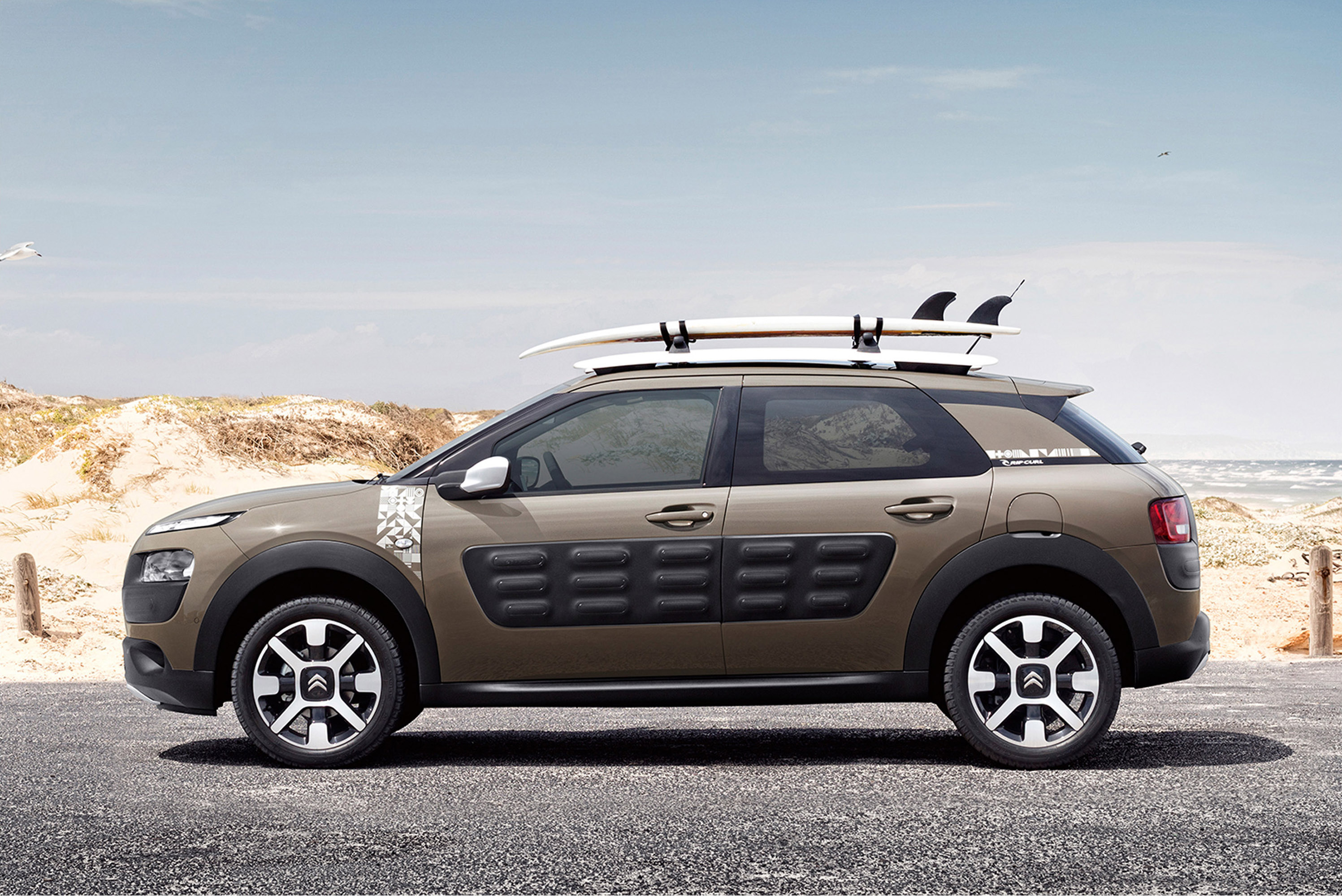 Citroen And Rip Curl Present A Special C4 Cactus Model